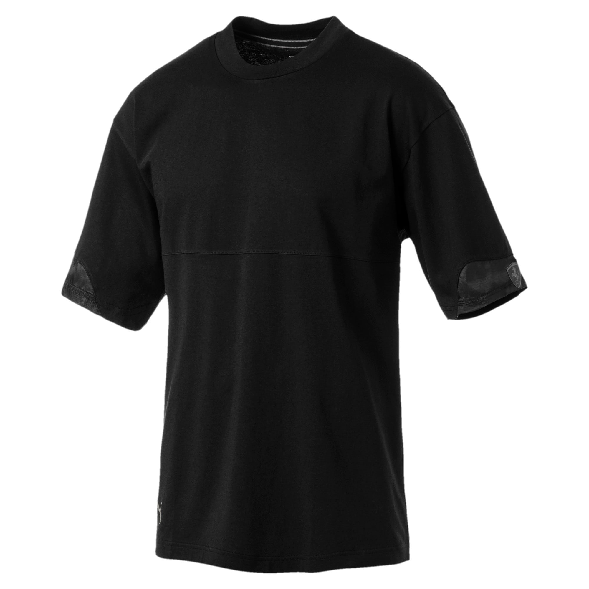 Thumbnail 1 of Ferrari Lifestyle Men's Tee, Puma Black, medium
