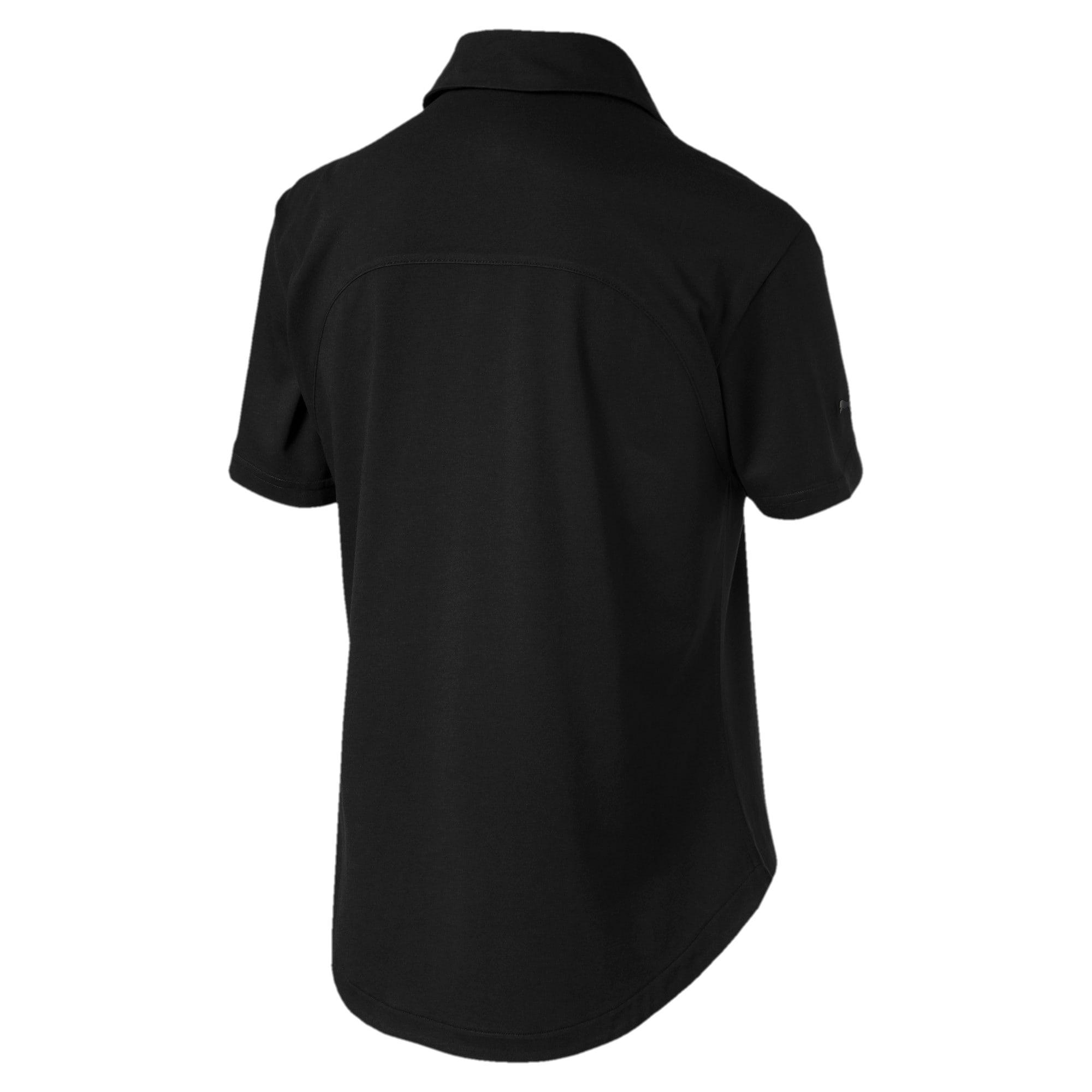 Miniatura 5 de Camiseta tipo polo Scuderia Ferrari para mujer, Puma Black, mediano