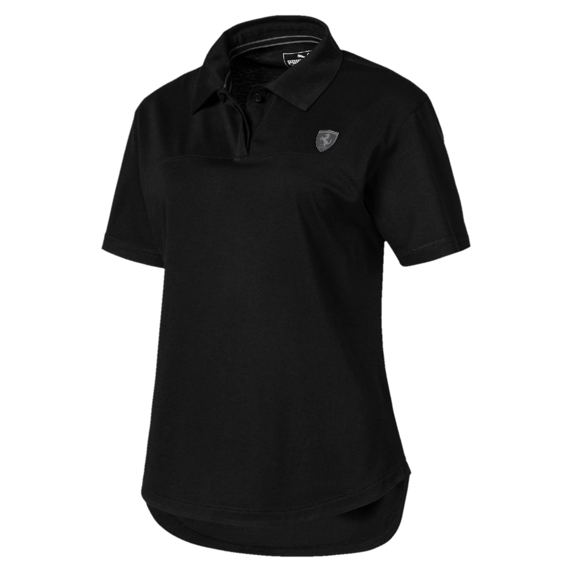 Miniatura 4 de Camiseta tipo polo Scuderia Ferrari para mujer, Puma Black, mediano