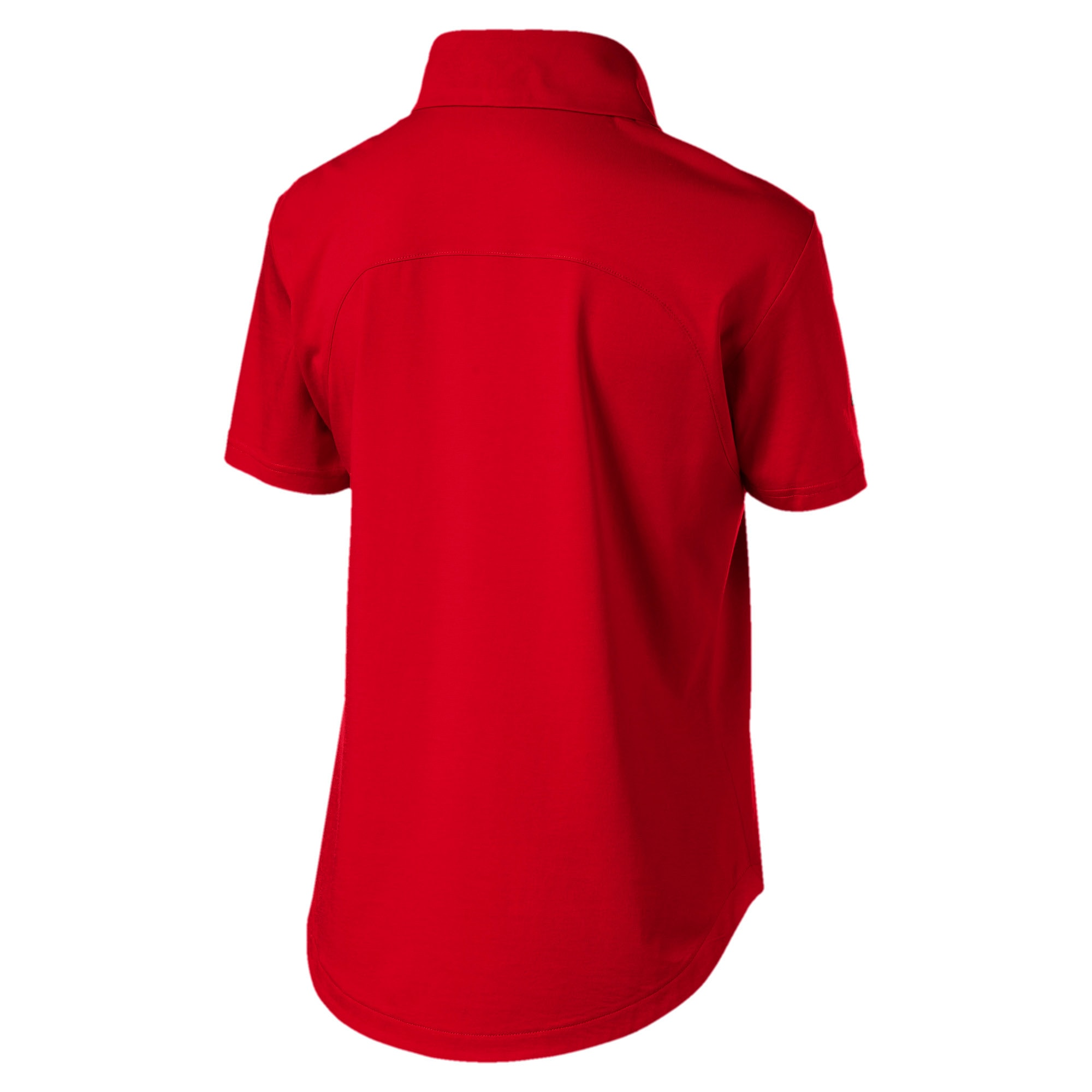 Thumbnail 5 of Ferrari Women's Polo, Rosso Corsa, medium