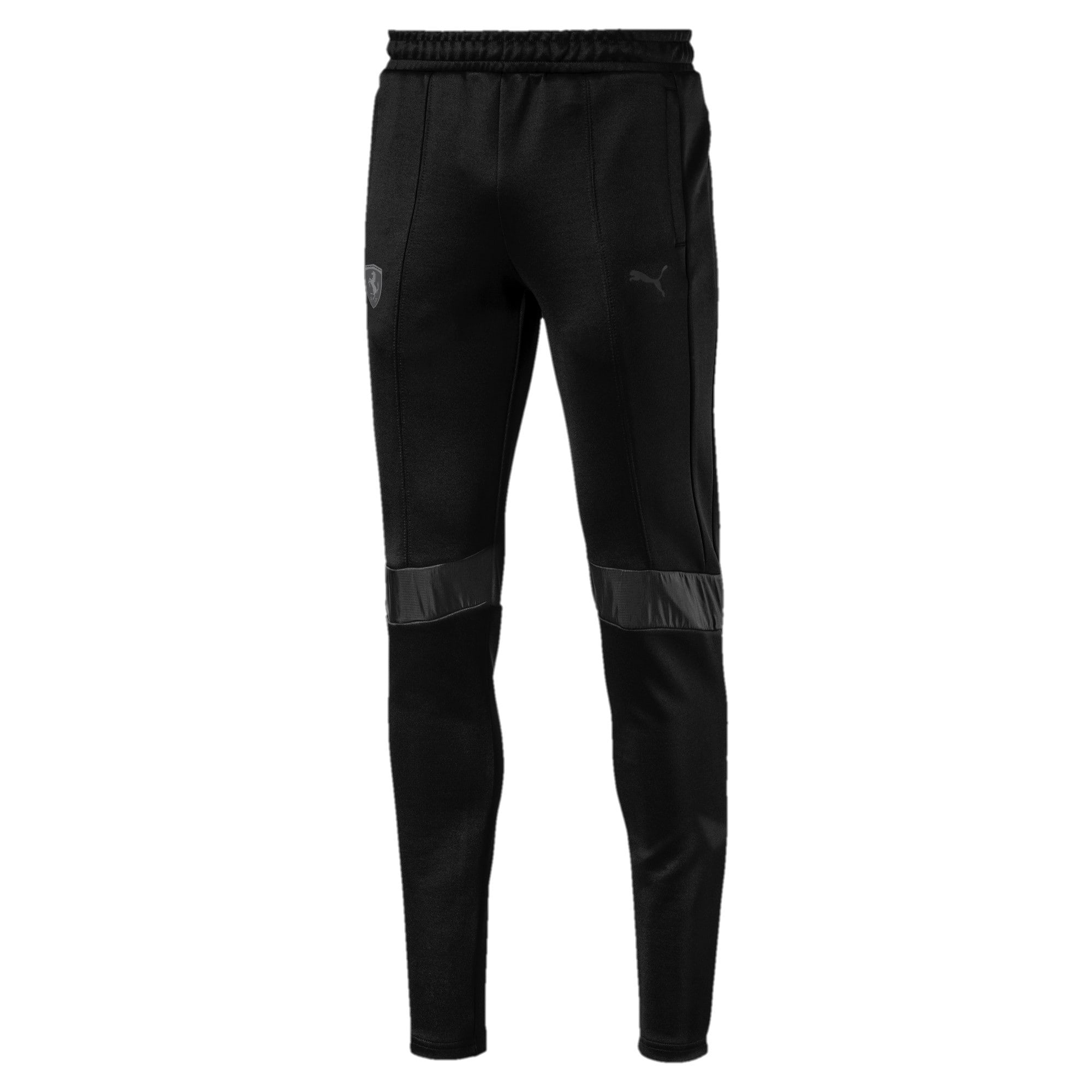 Thumbnail 1 of Ferrari T7 Men's Track Pants, Puma Black, medium