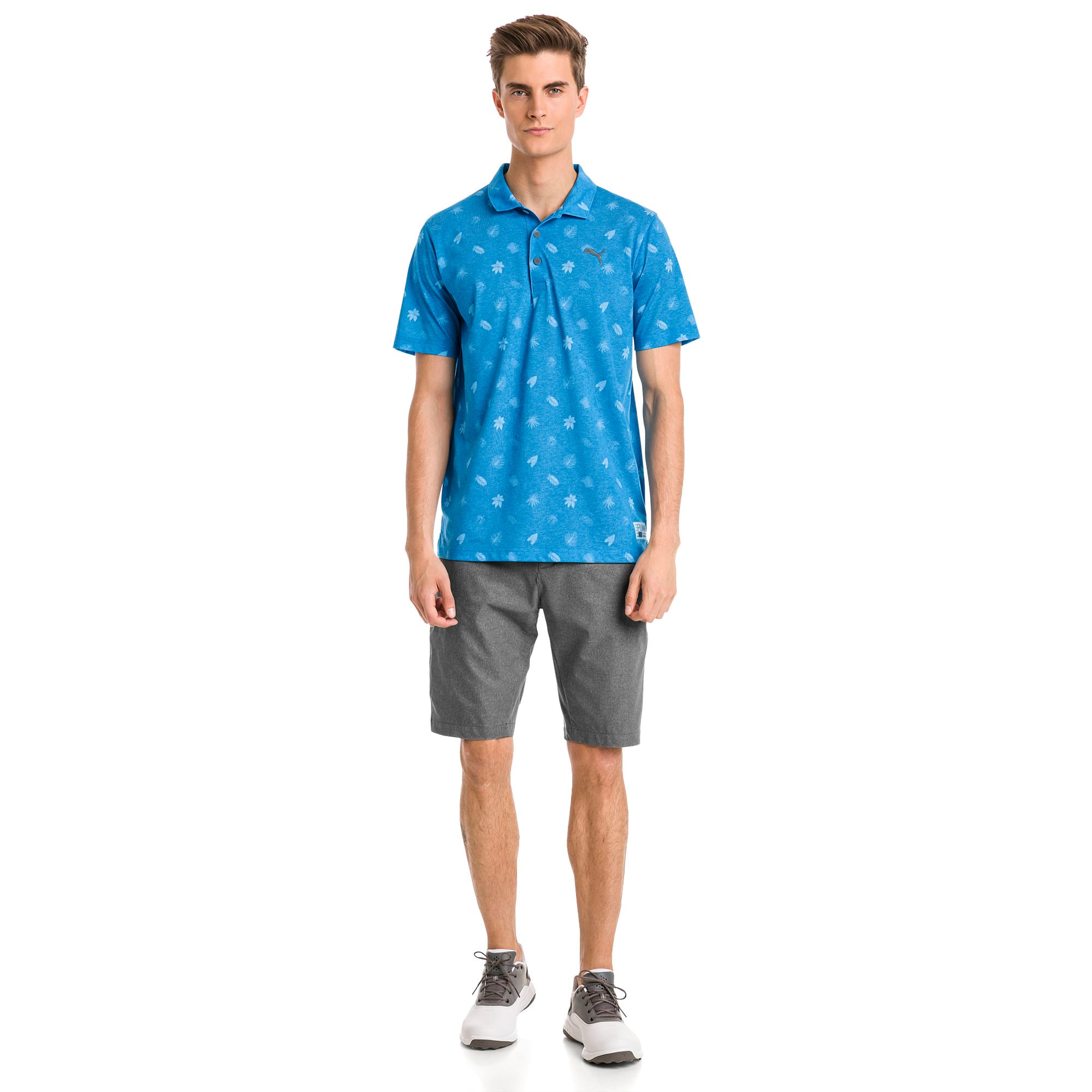 Thumbnail 3 of Polo de golf Verdant pour homme, Bleu Azur, medium