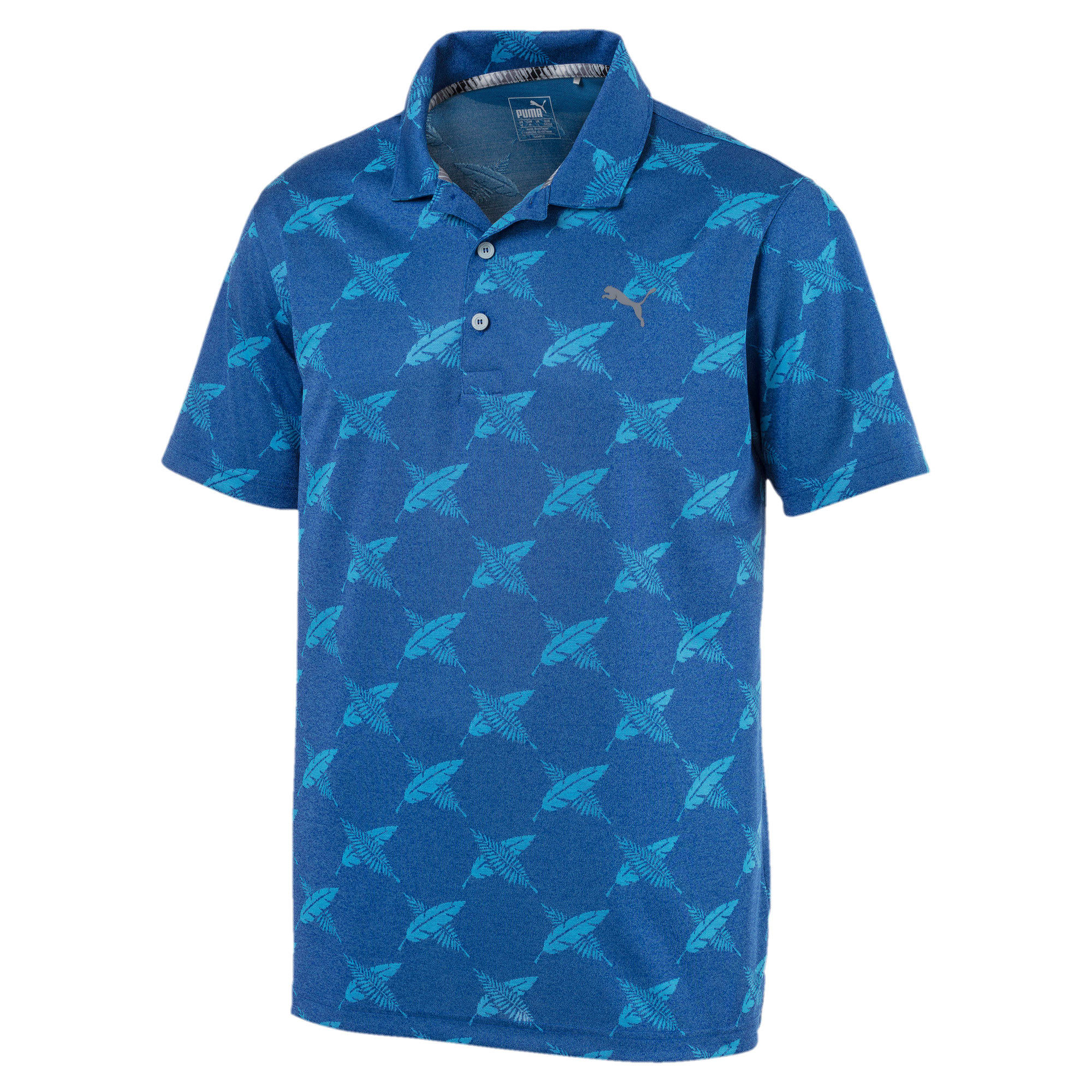 Thumbnail 4 of Polo de golf AlterKnit Palms pour homme, Surf The Web, medium