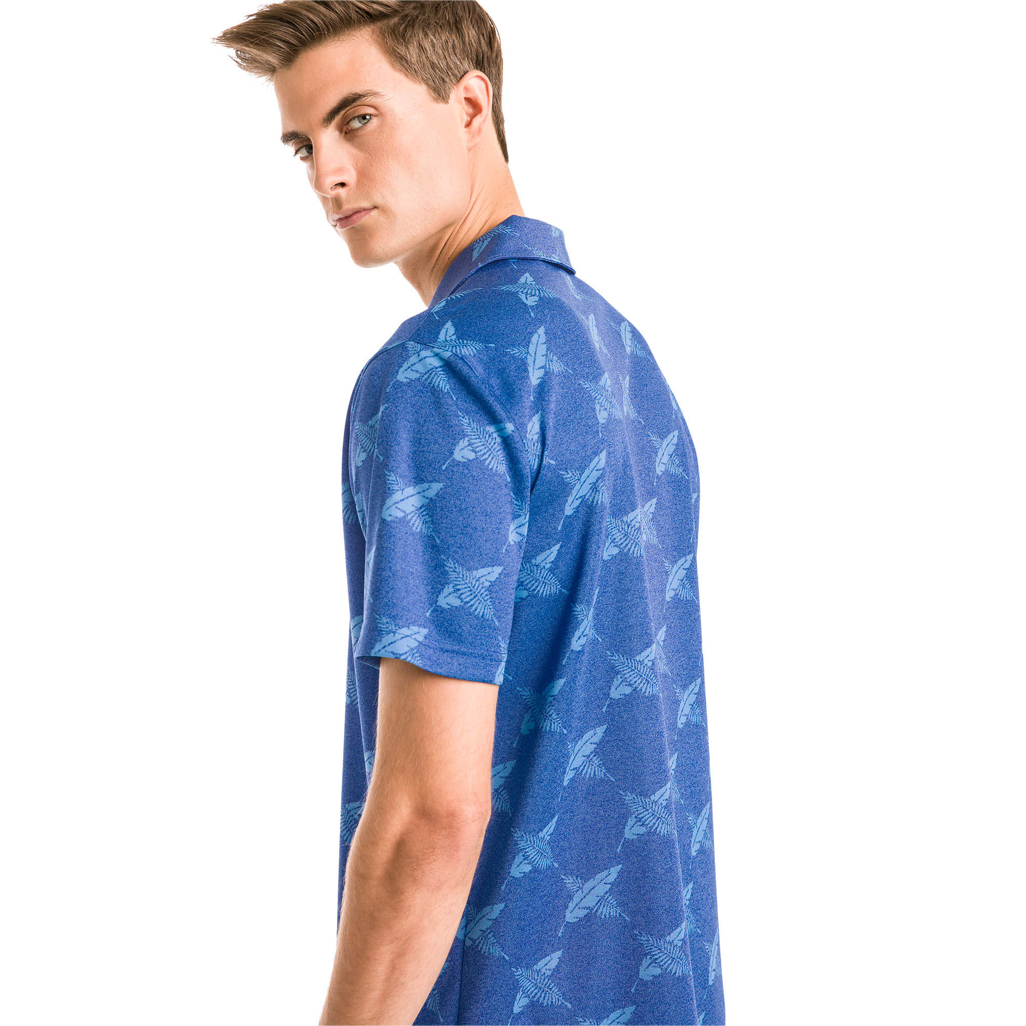 Thumbnail 2 of Polo de golf AlterKnit Palms pour homme, Surf The Web, medium