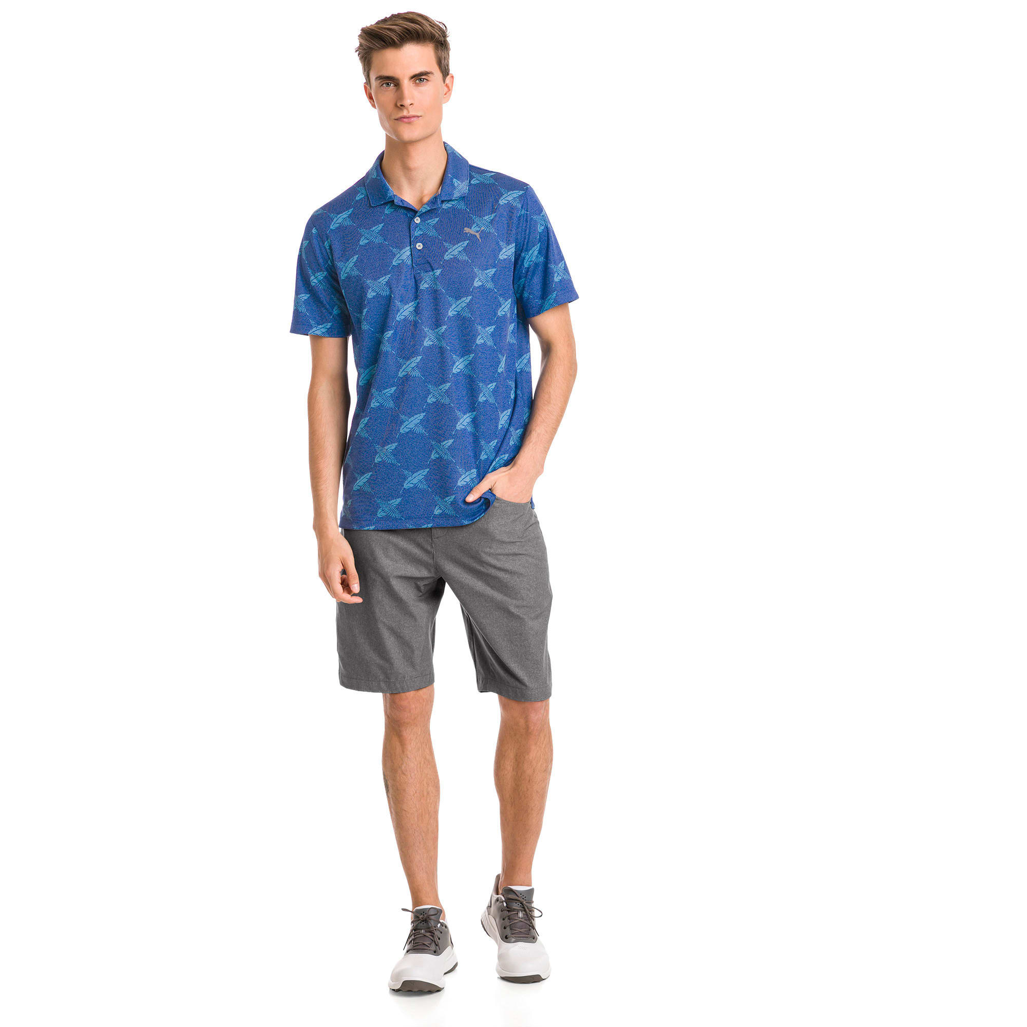 Thumbnail 3 of Polo de golf AlterKnit Palms pour homme, Surf The Web, medium