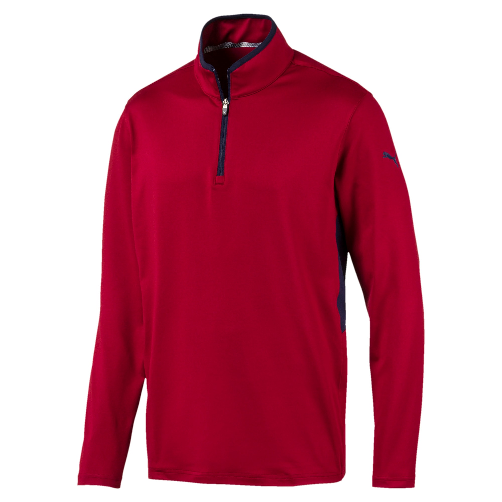 Thumbnail 1 of Rotation Men's 1/4 Zip Pullover, Rhubarb, medium