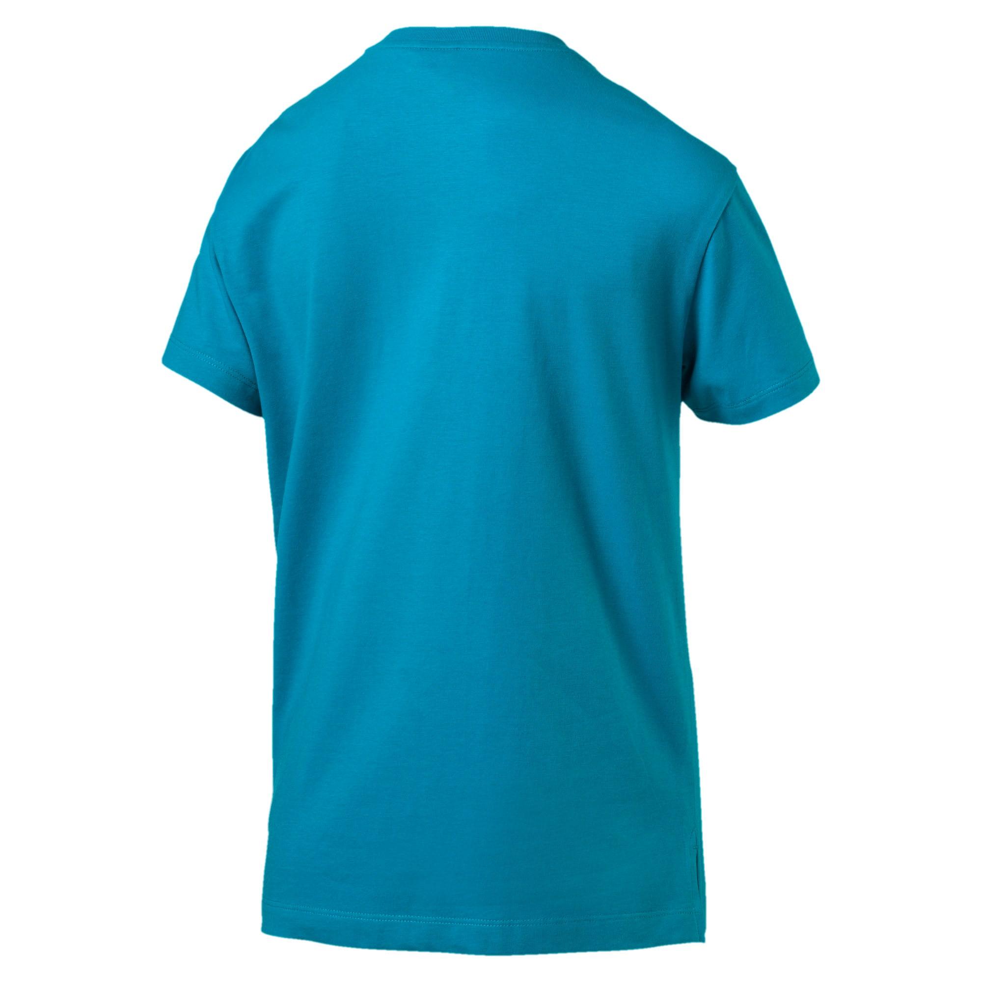 Miniatura 2 de Camiseta Classics con logotipo para mujer, Caribbean Sea, mediano