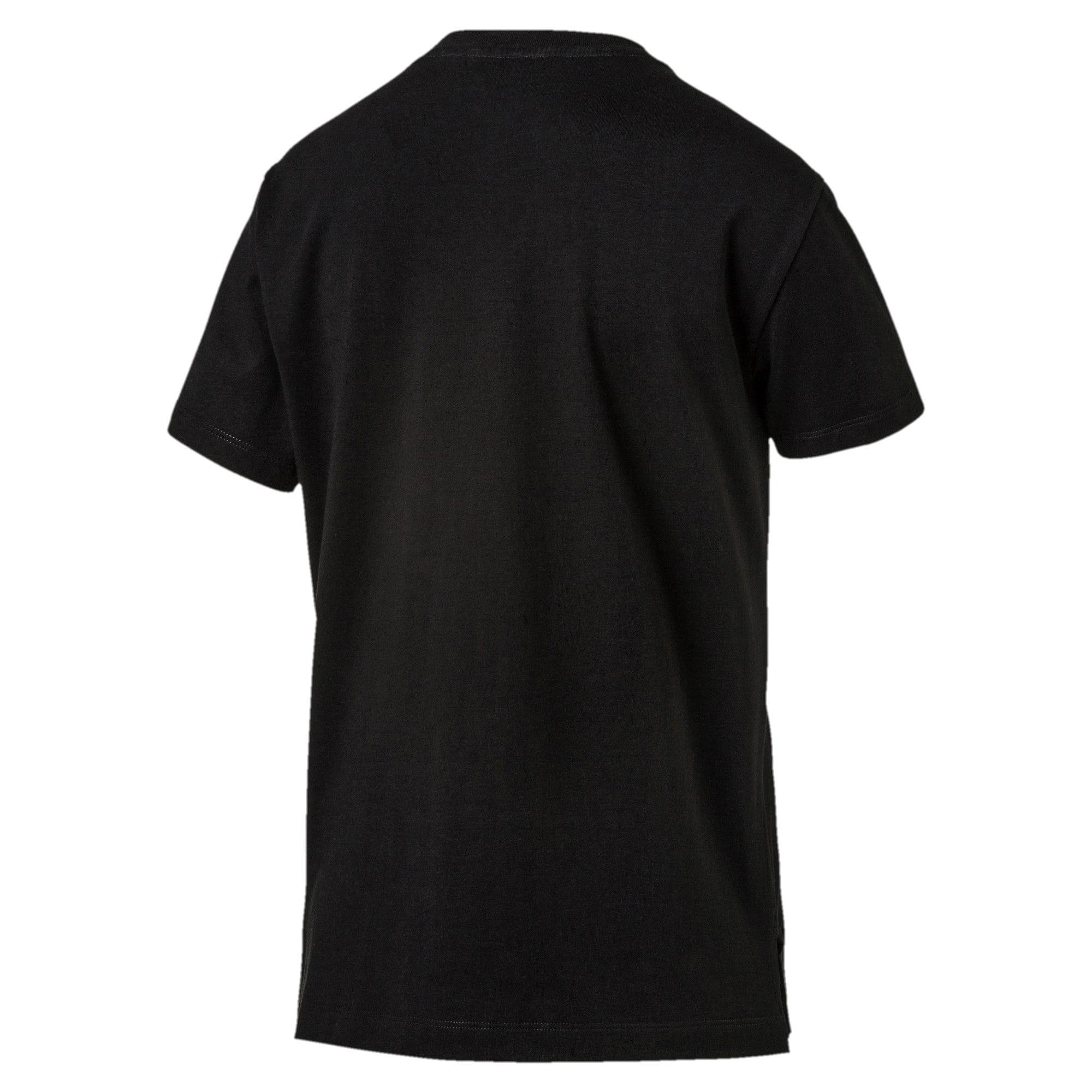Miniatura 1 de Camiseta Classics con logotipo para mujer, Cotton Black-gold, mediano