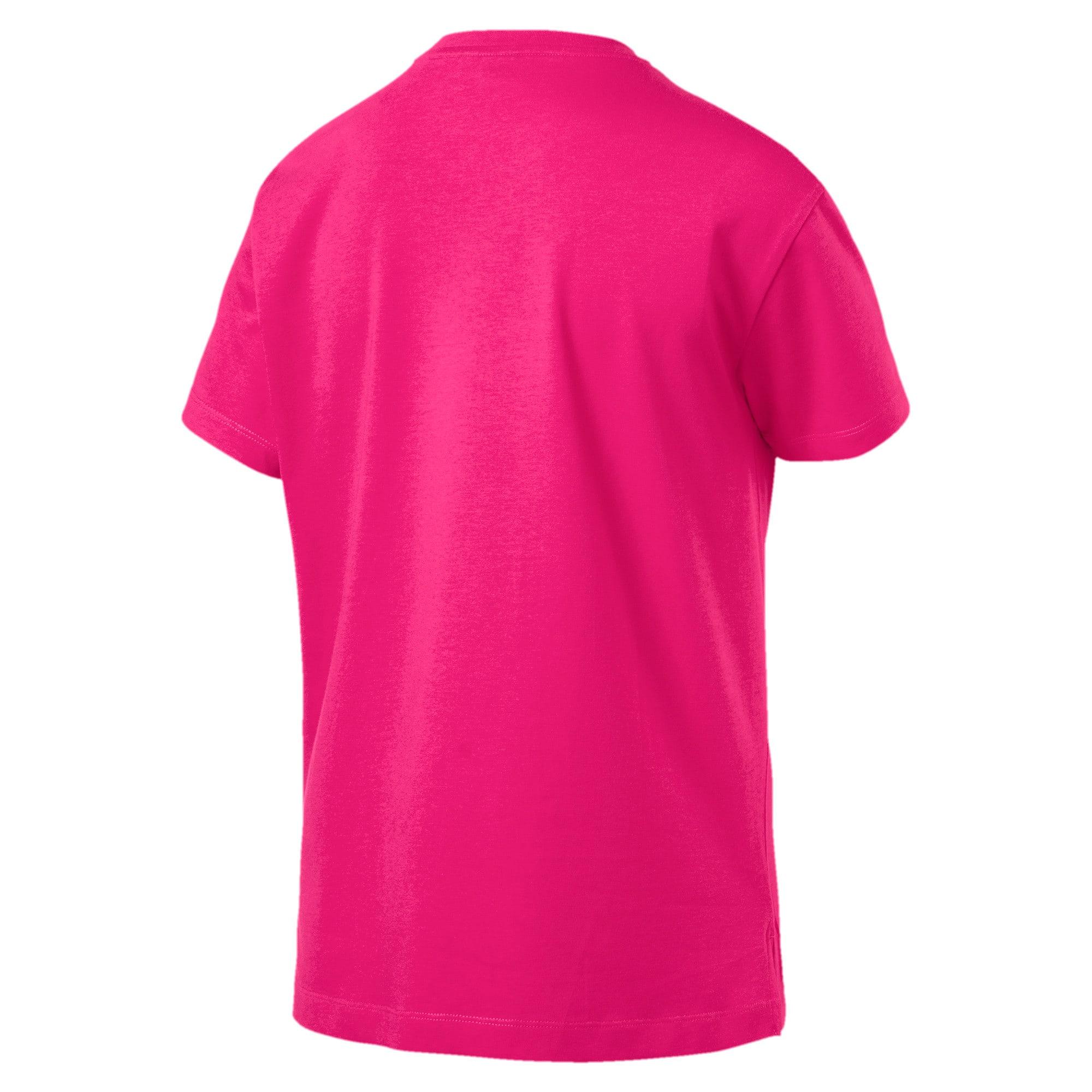 Miniatura 2 de Camiseta Classics con logotipo para mujer, Fuchsia Purple-silver, mediano