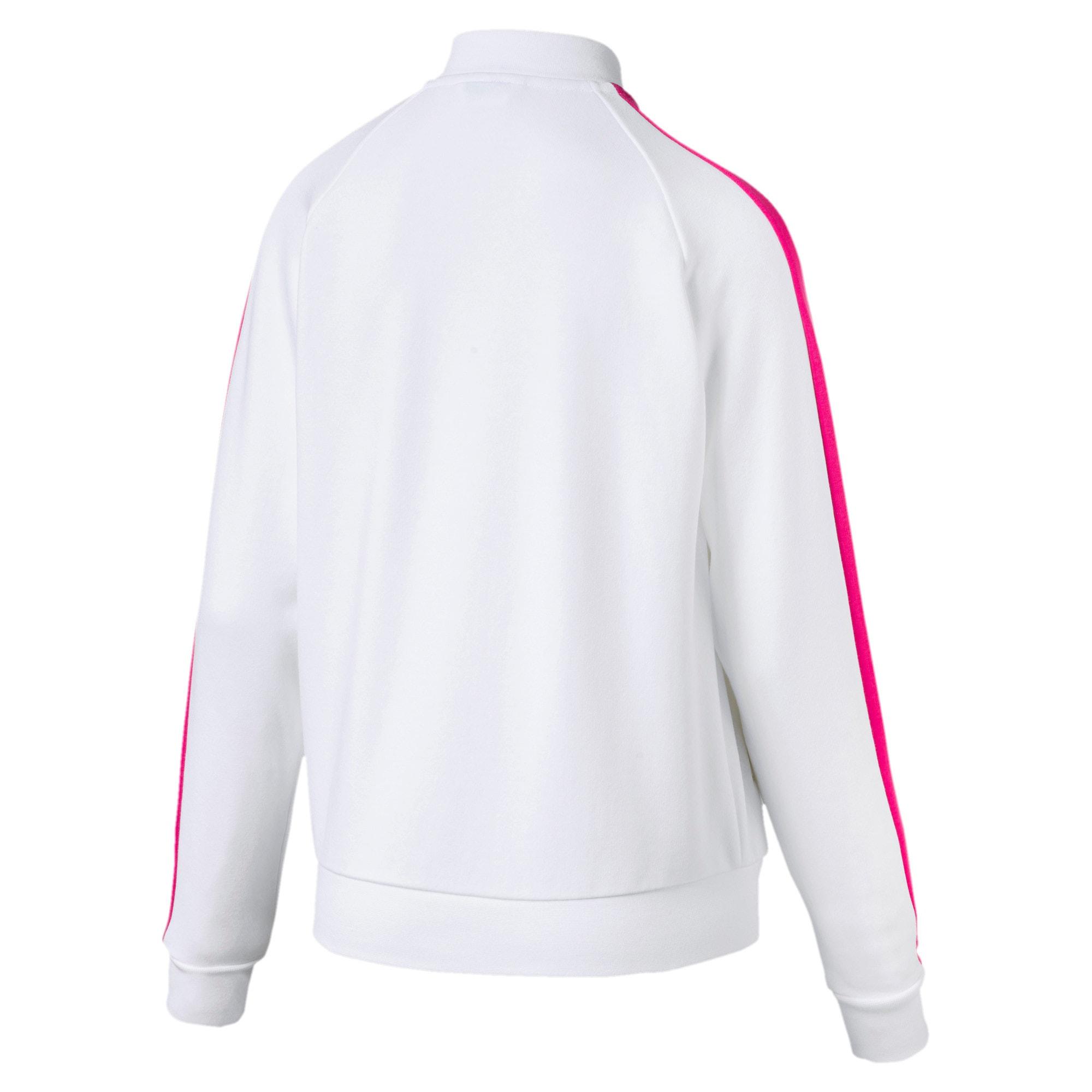 Thumbnail 3 of Classics Women's T7 Track Jacket, Puma White -1, medium