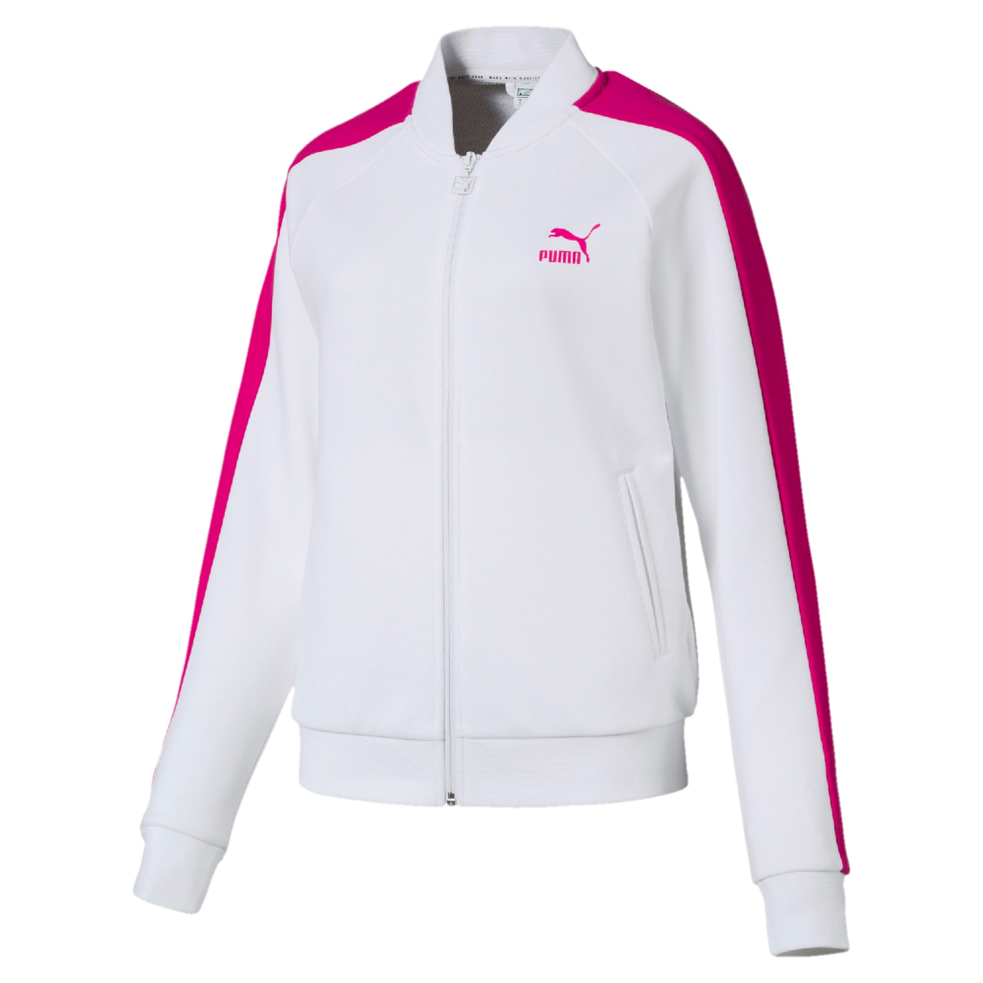 Thumbnail 1 of Classics Women's T7 Track Jacket, Puma White -1, medium