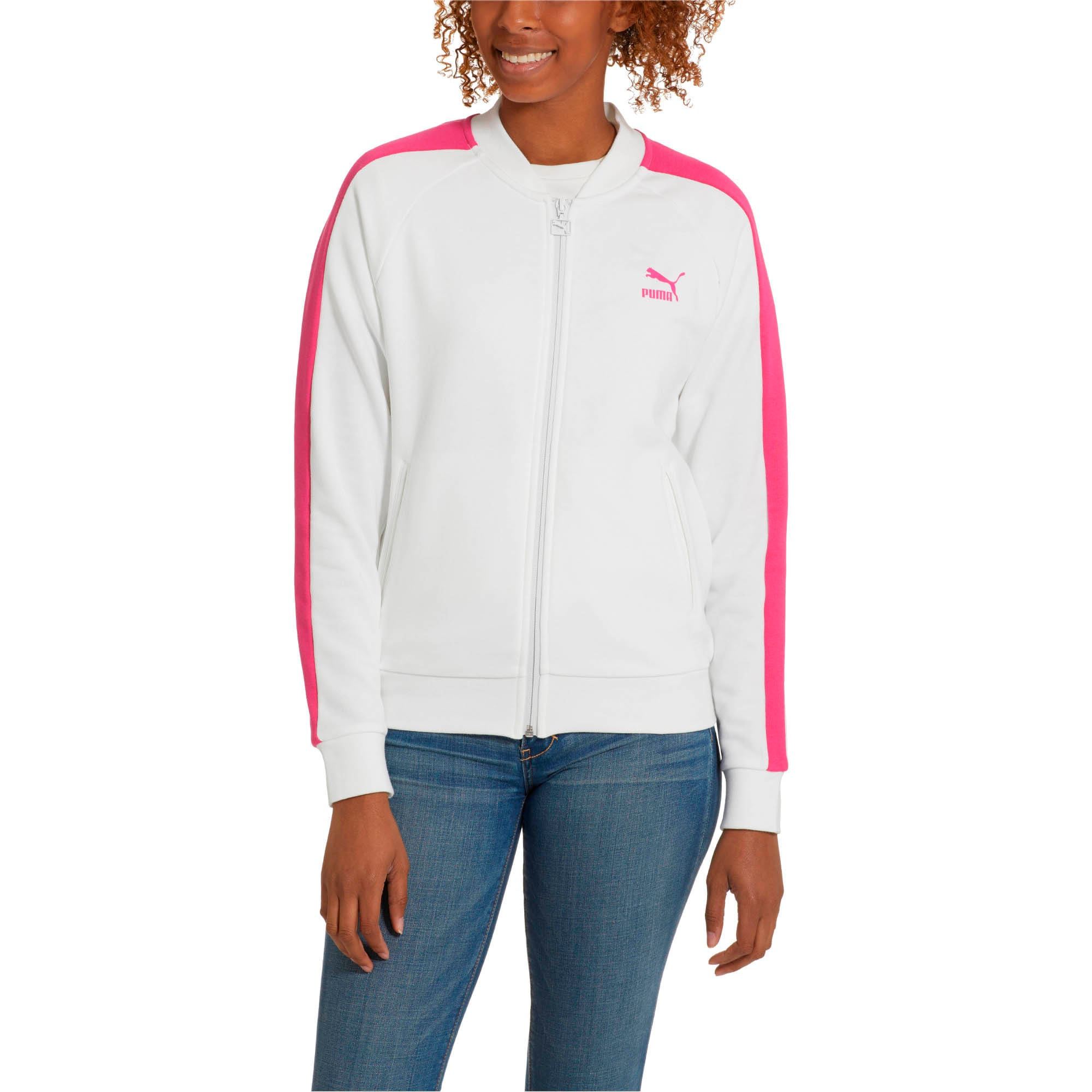 Thumbnail 2 of Classics Women's T7 Track Jacket, Puma White -1, medium