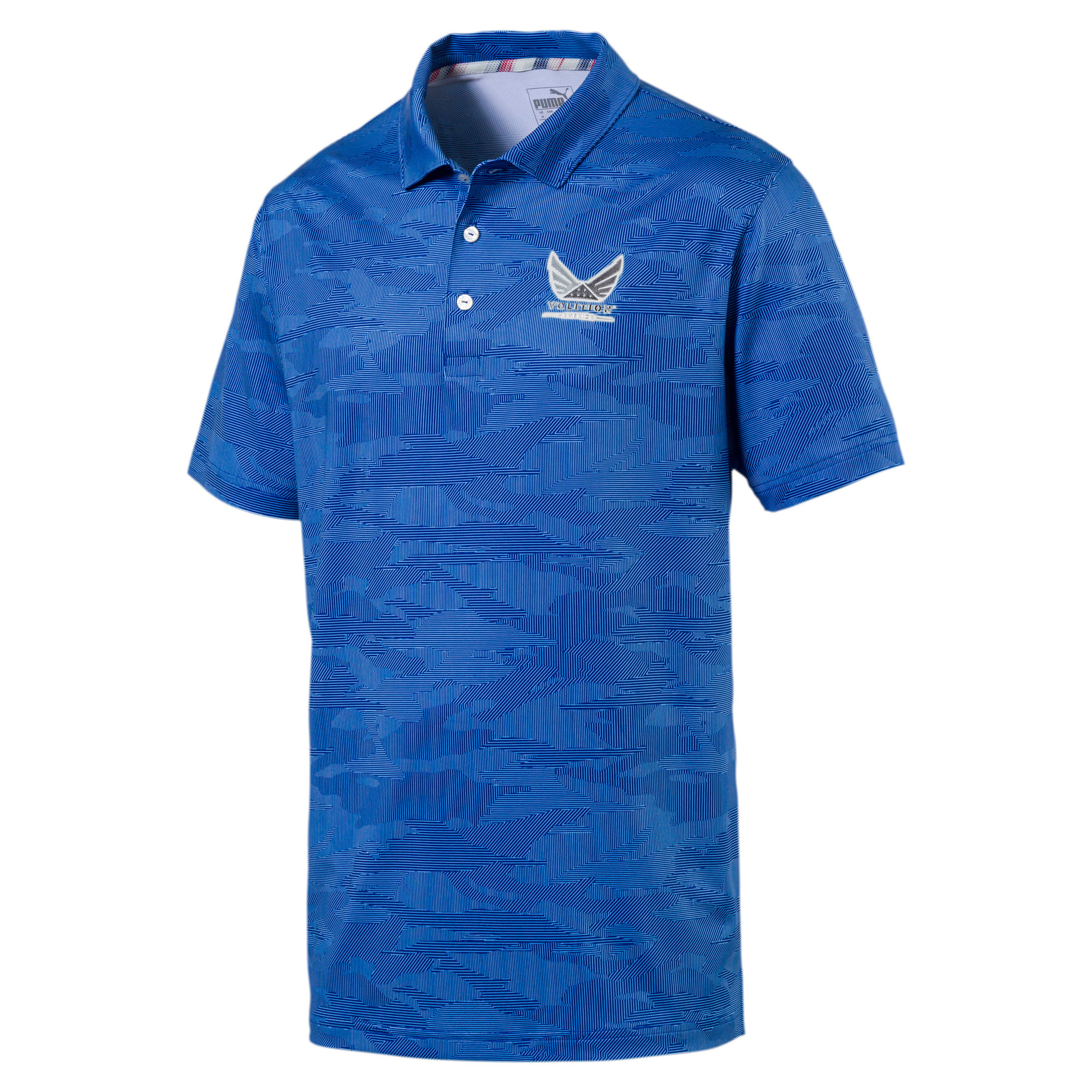 Thumbnail 1 of Volition Men's Signature Polo, Surf The Web, medium