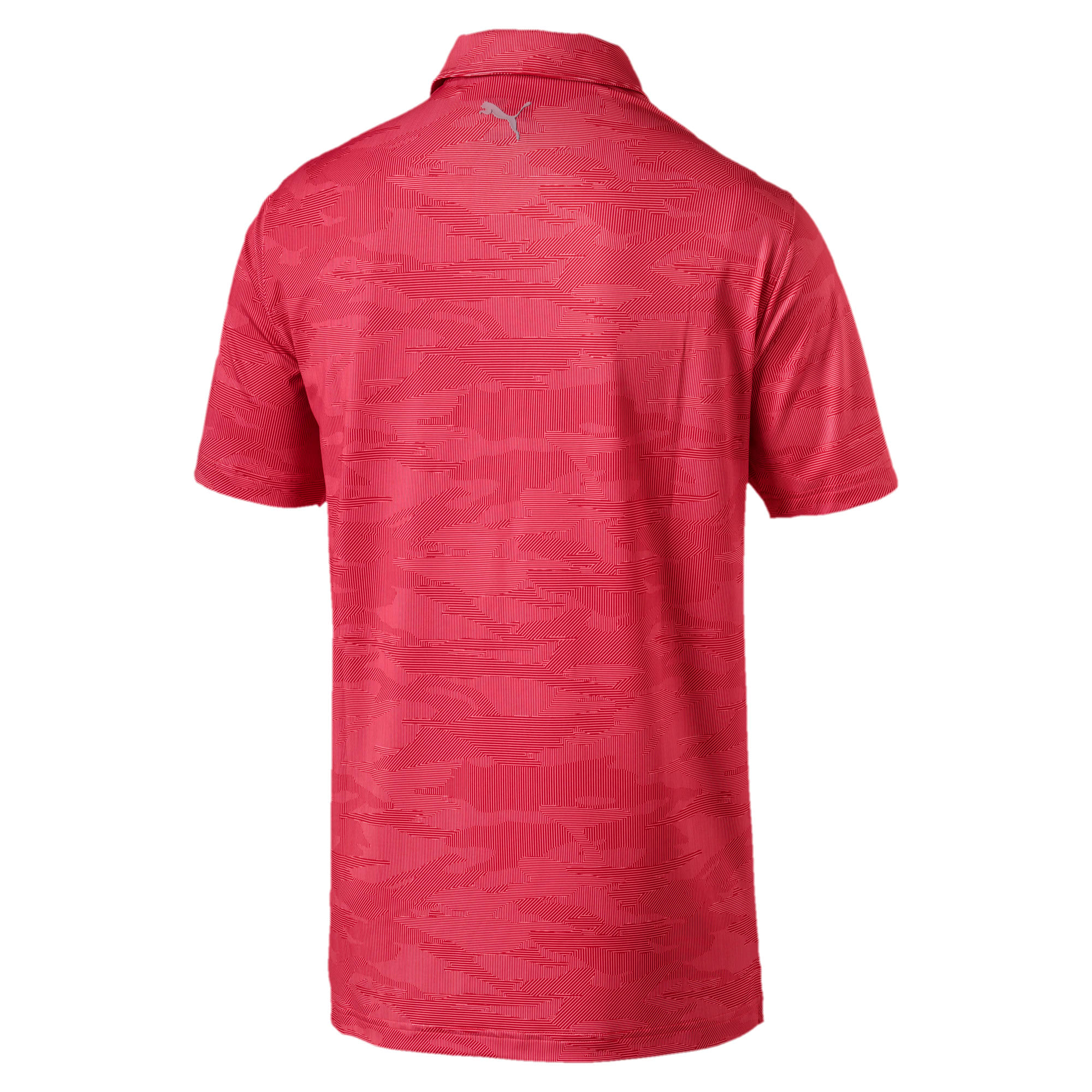Thumbnail 2 of Volition Men's Signature Polo, High Risk Red, medium