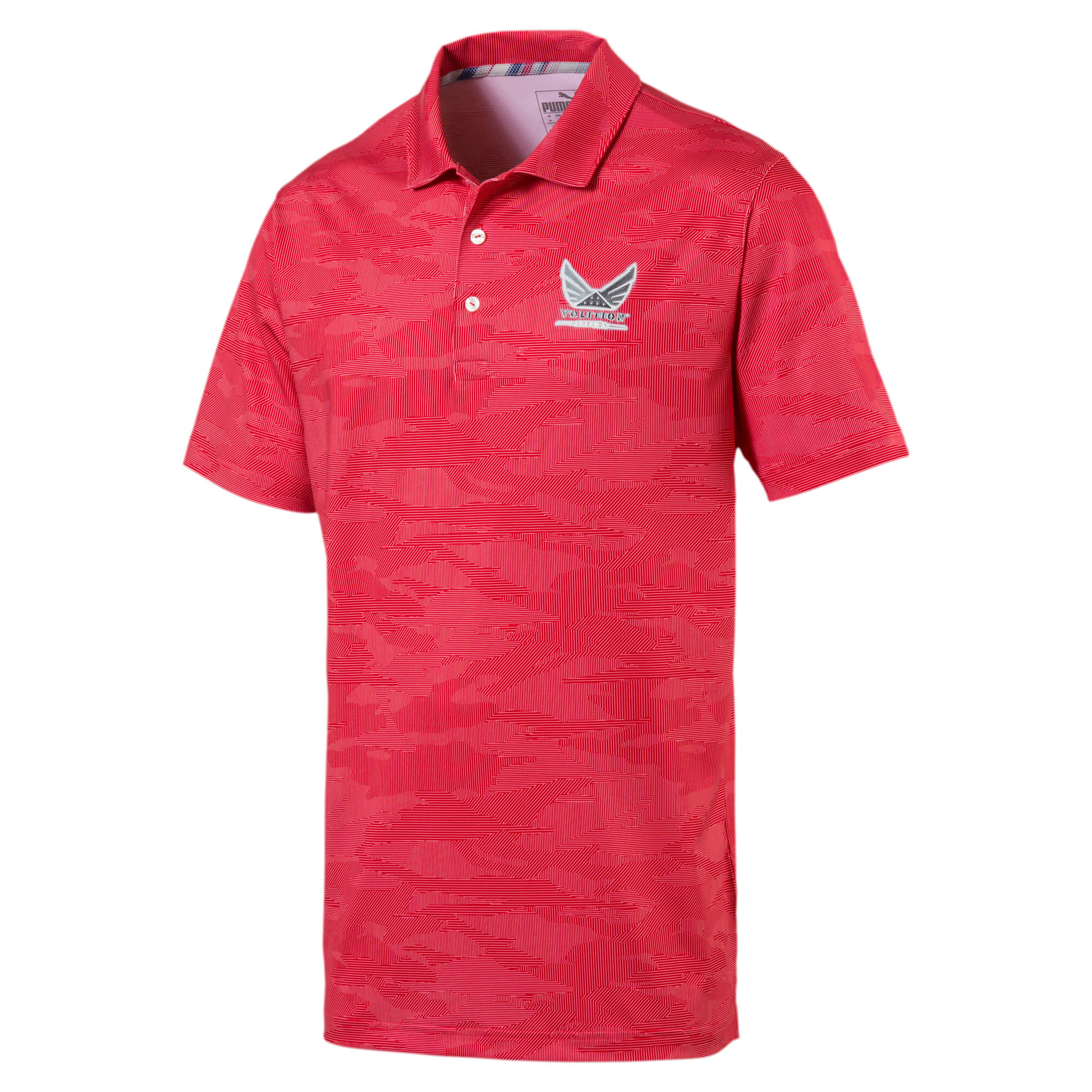 Thumbnail 1 of Volition Men's Signature Polo, High Risk Red, medium
