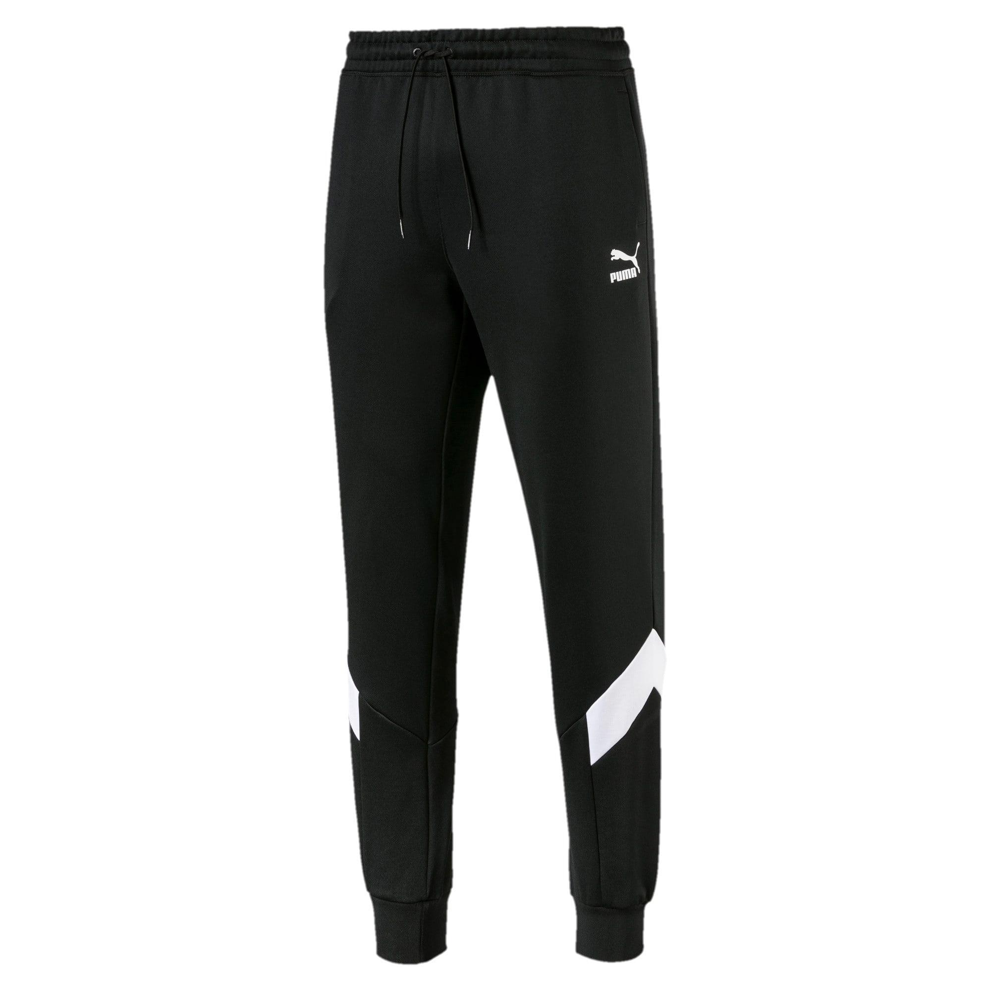Thumbnail 1 of Iconic MCS Men's Track Pants, Puma Black -1, medium
