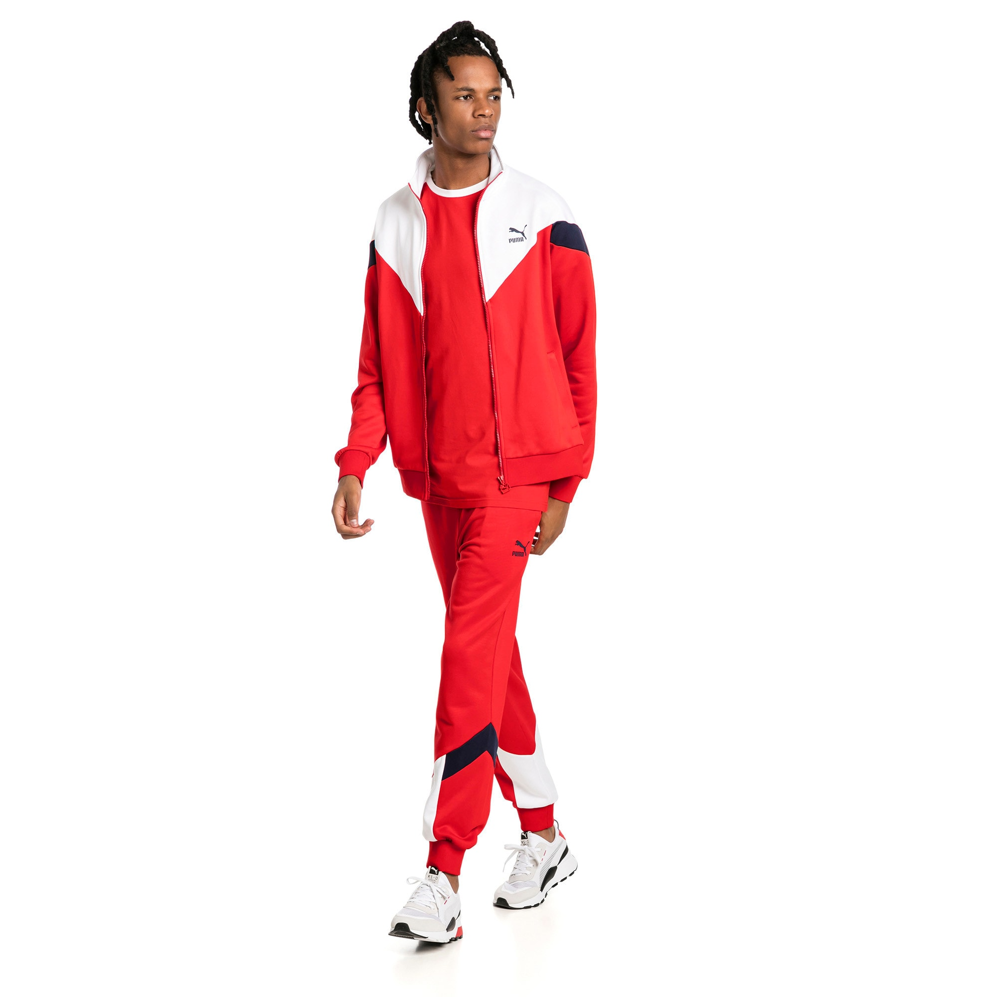 Thumbnail 5 of Iconic MCS Men's Track Pants, High Risk Red, medium
