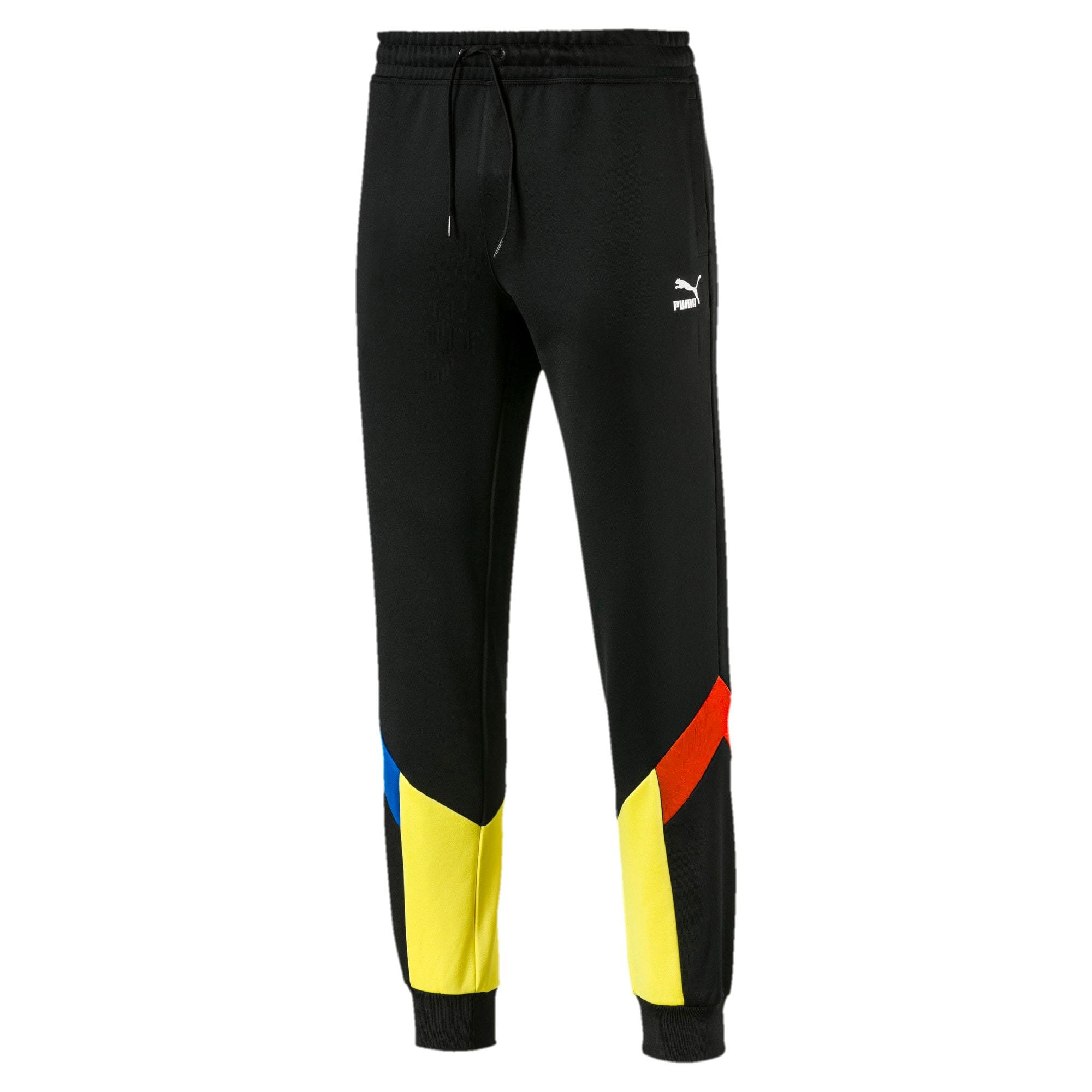Thumbnail 1 of Iconic MCS Men's Track Pants, Puma Black - 2, medium