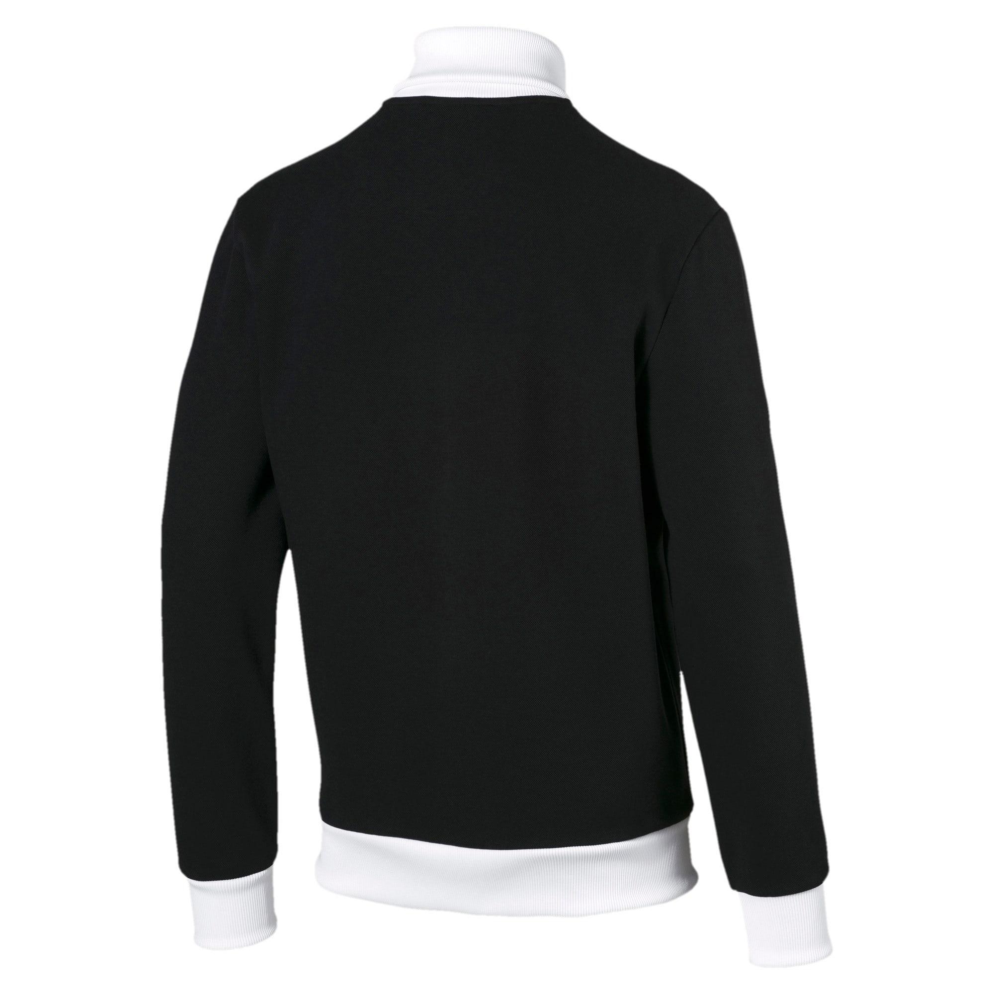 Thumbnail 3 of Iconic T7 Spezial Men's Track Jacket, Cotton Black, medium