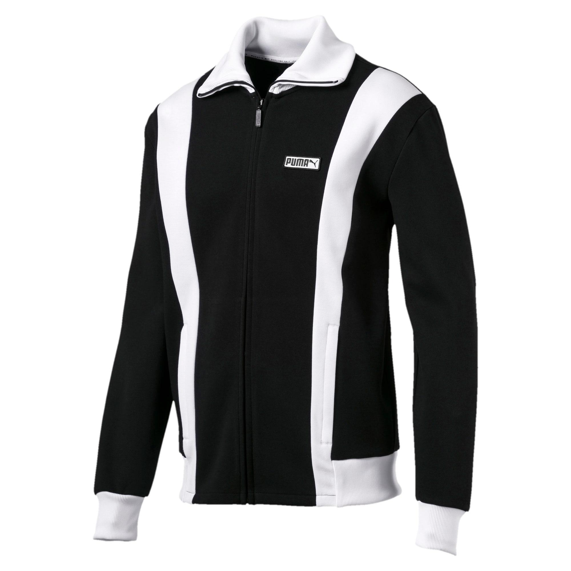 Thumbnail 1 of Iconic T7 Spezial Men's Track Jacket, Cotton Black, medium