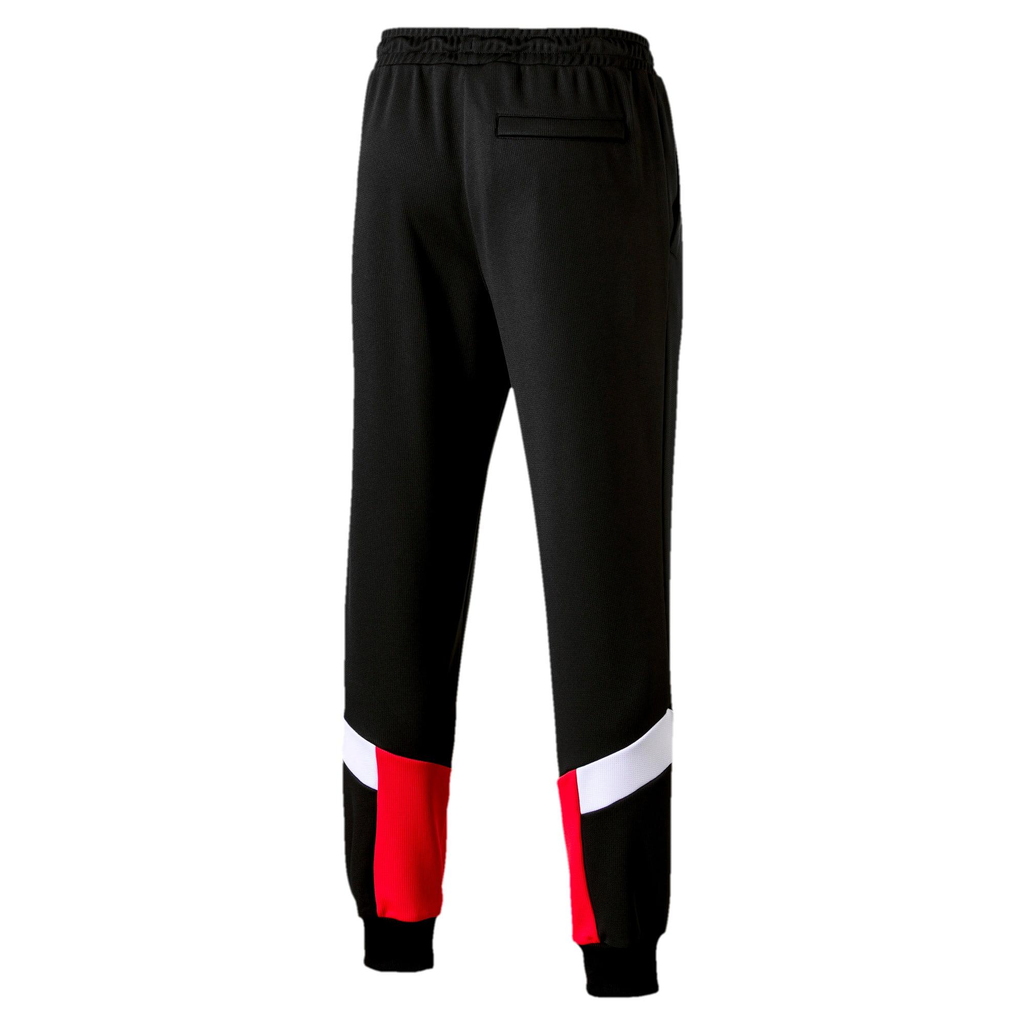 Thumbnail 3 of Iconic MCS Men's Mesh Track Pants, Puma Black, medium