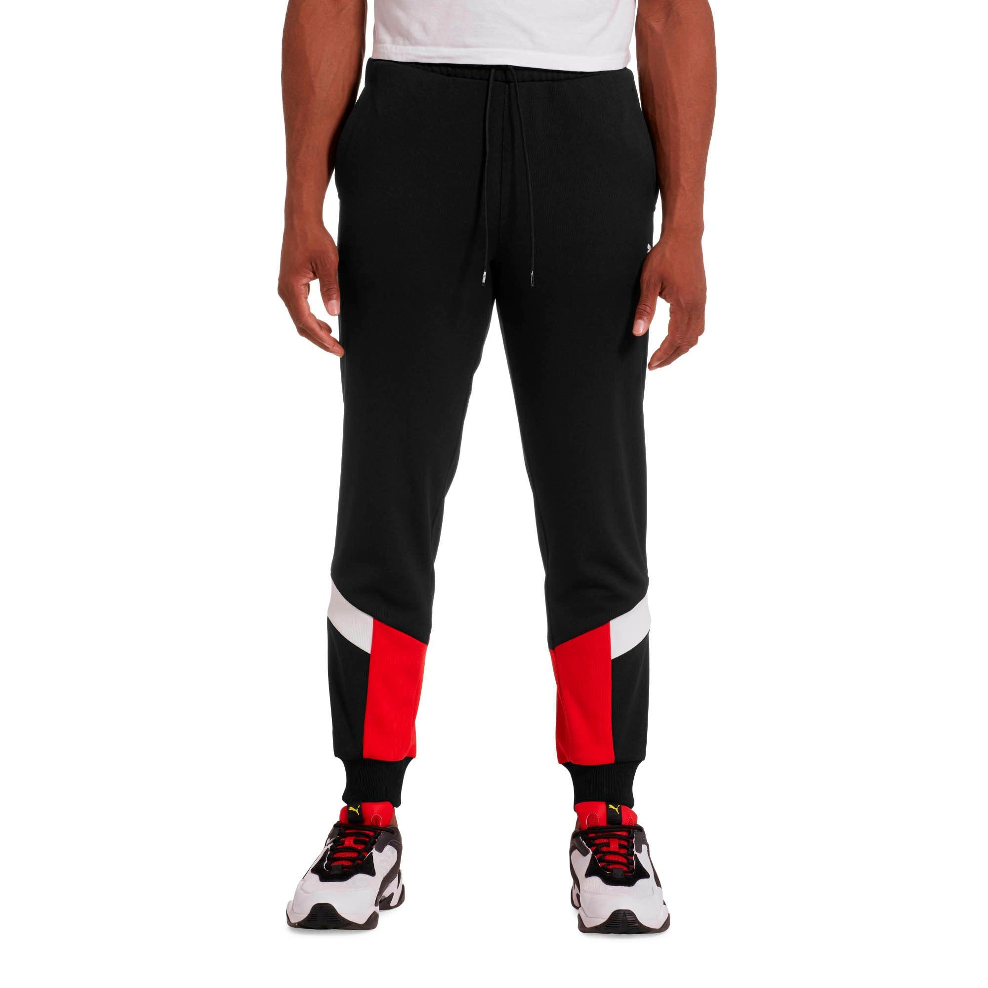 Thumbnail 1 of Iconic MCS Men's Mesh Track Pants, Puma Black, medium
