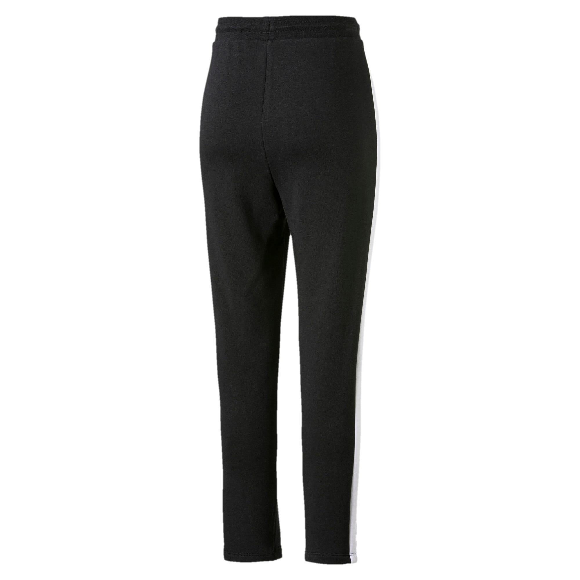 Miniatura 3 de Pantalones deportivos Classics T7 de felpa francesa para mujer, Cotton Black, mediano