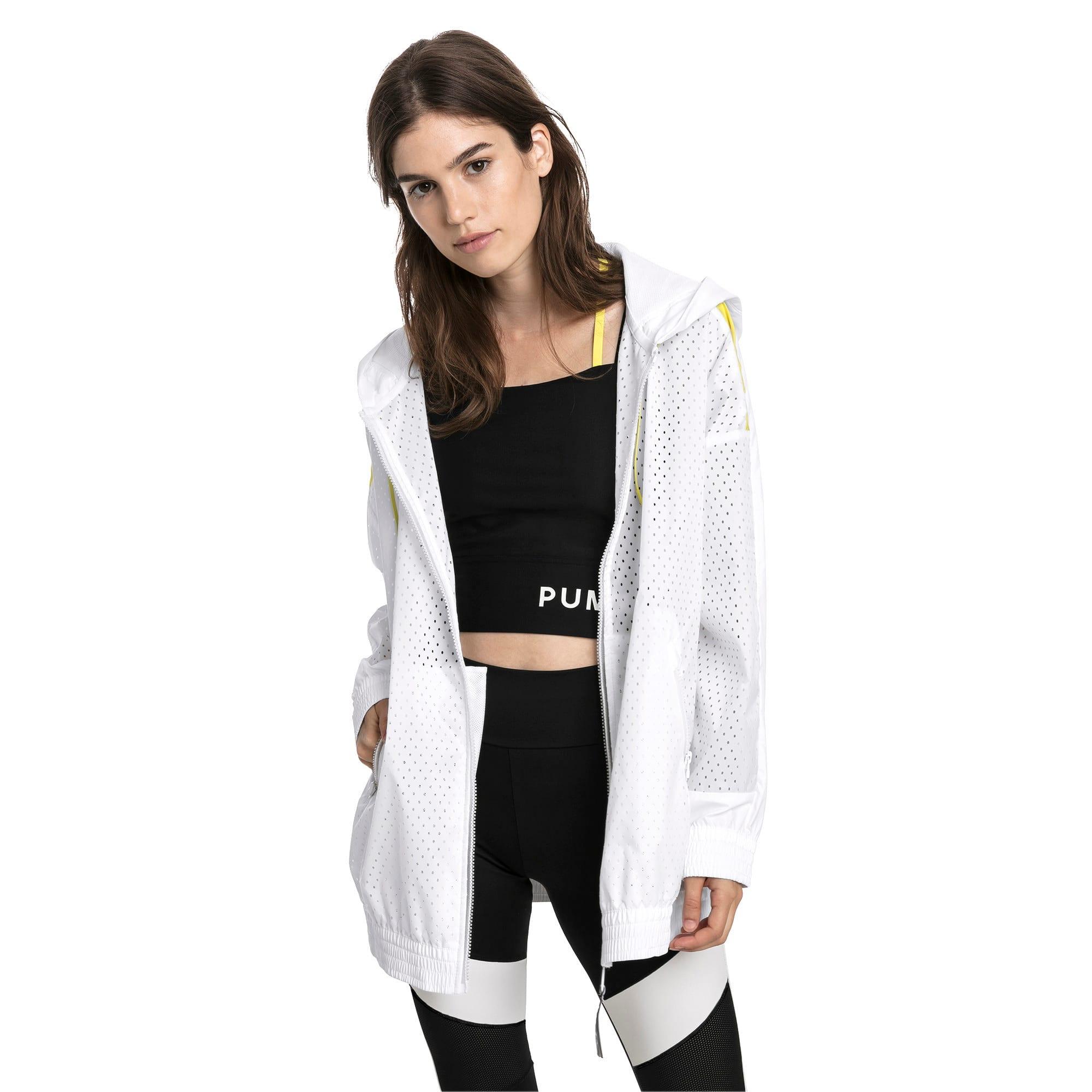 Thumbnail 1 of Chase Women's Full Zip Jacket, Puma White, medium