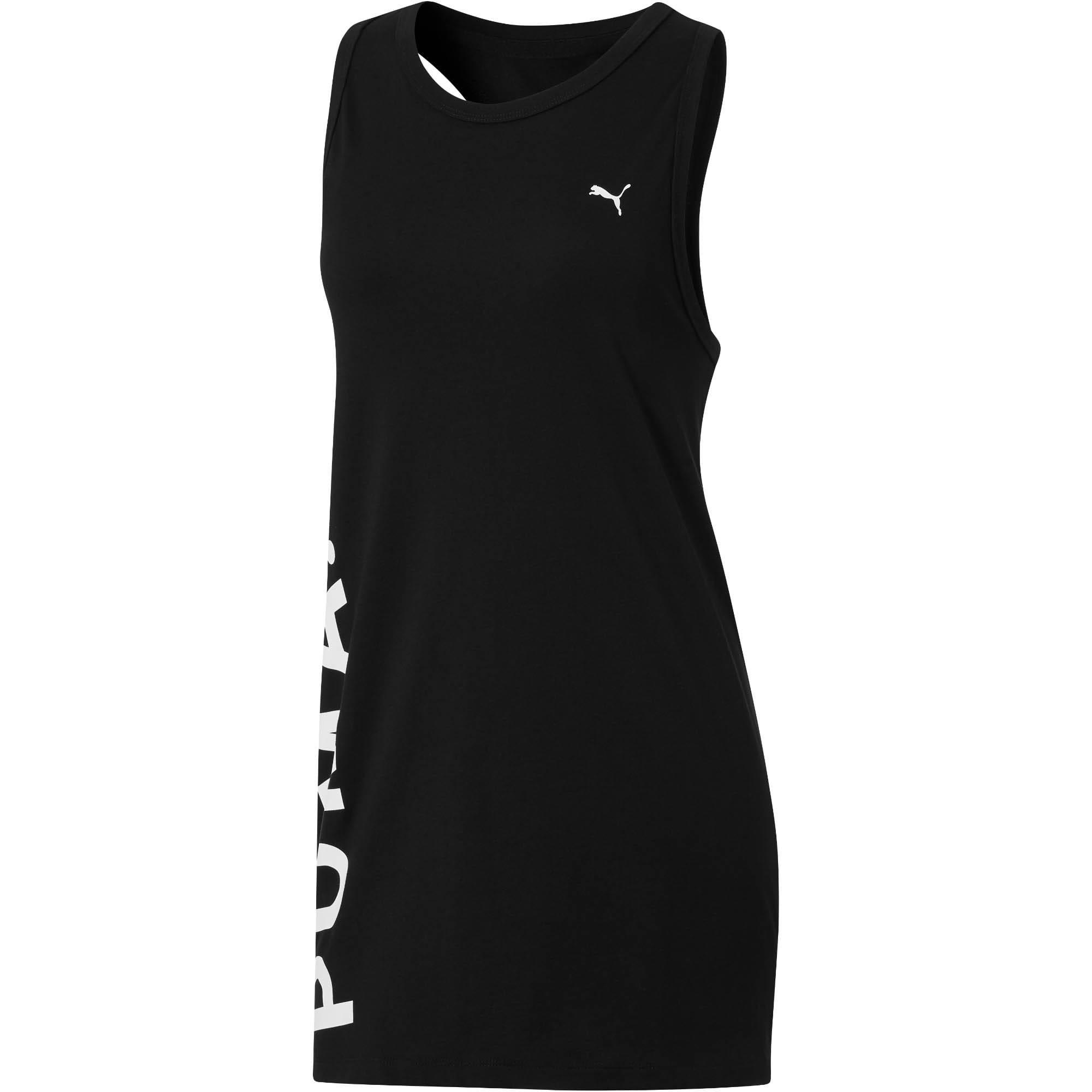 Miniatura 1 de Camiseta sin mangas Chase de mujer, Cotton Black, mediano