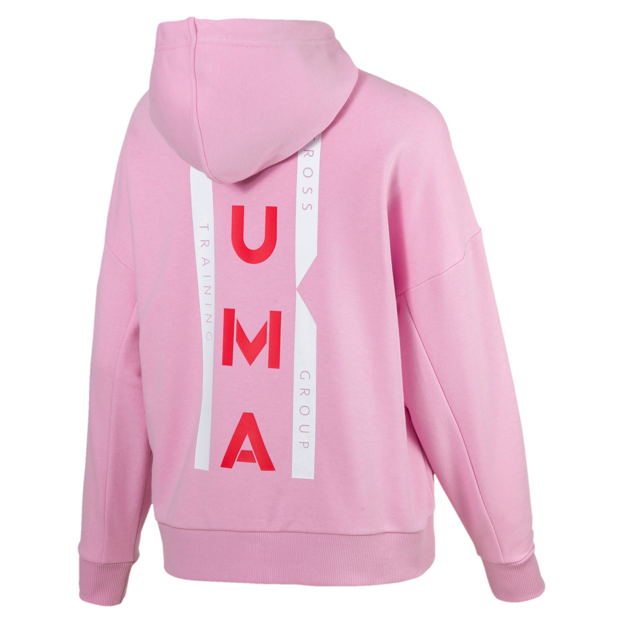 Thumbnail 3 of PUMA XTG Women's Half Zip Hoodie, Pale Pink, medium