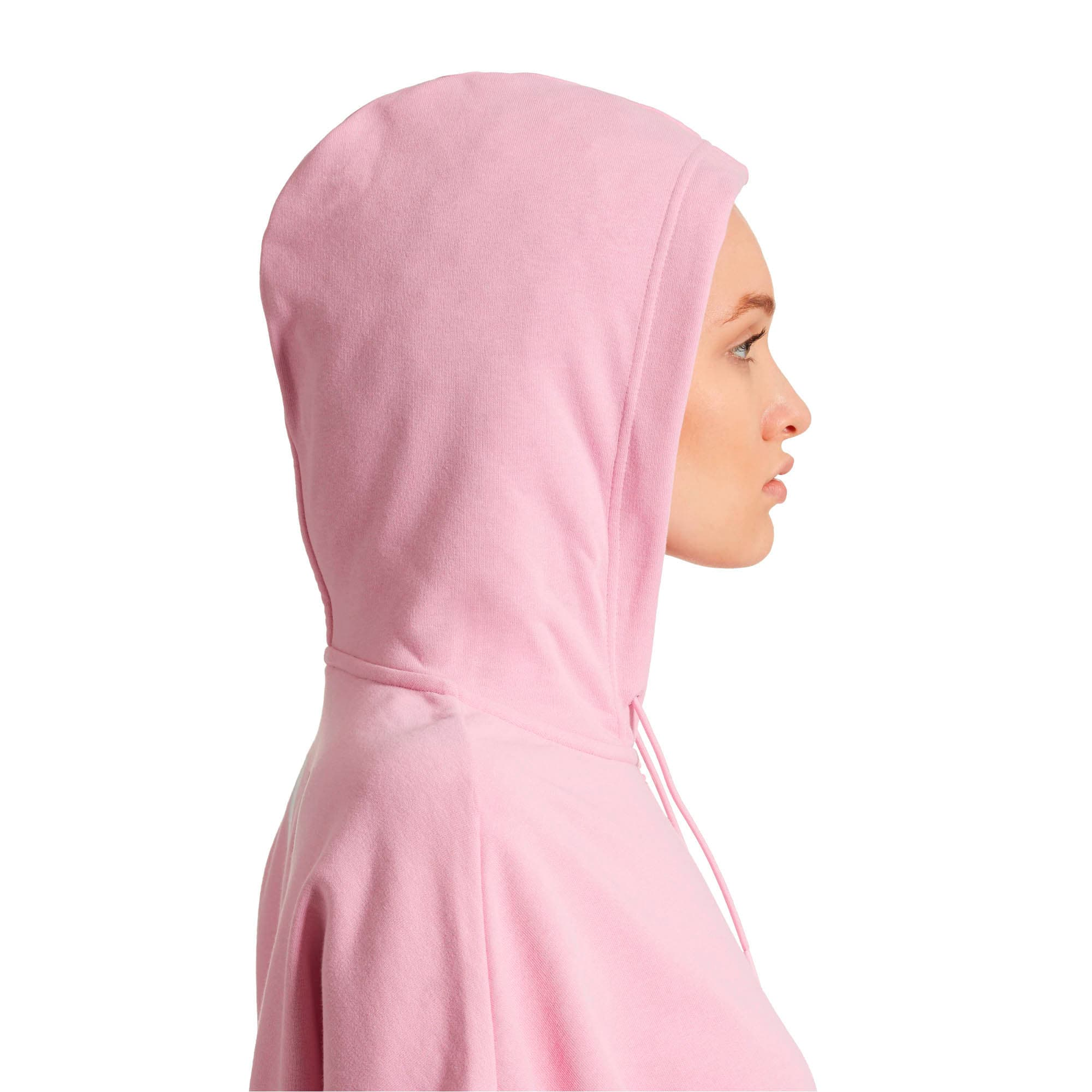 Thumbnail 4 of PUMA XTG Women's Half Zip Hoodie, Pale Pink, medium