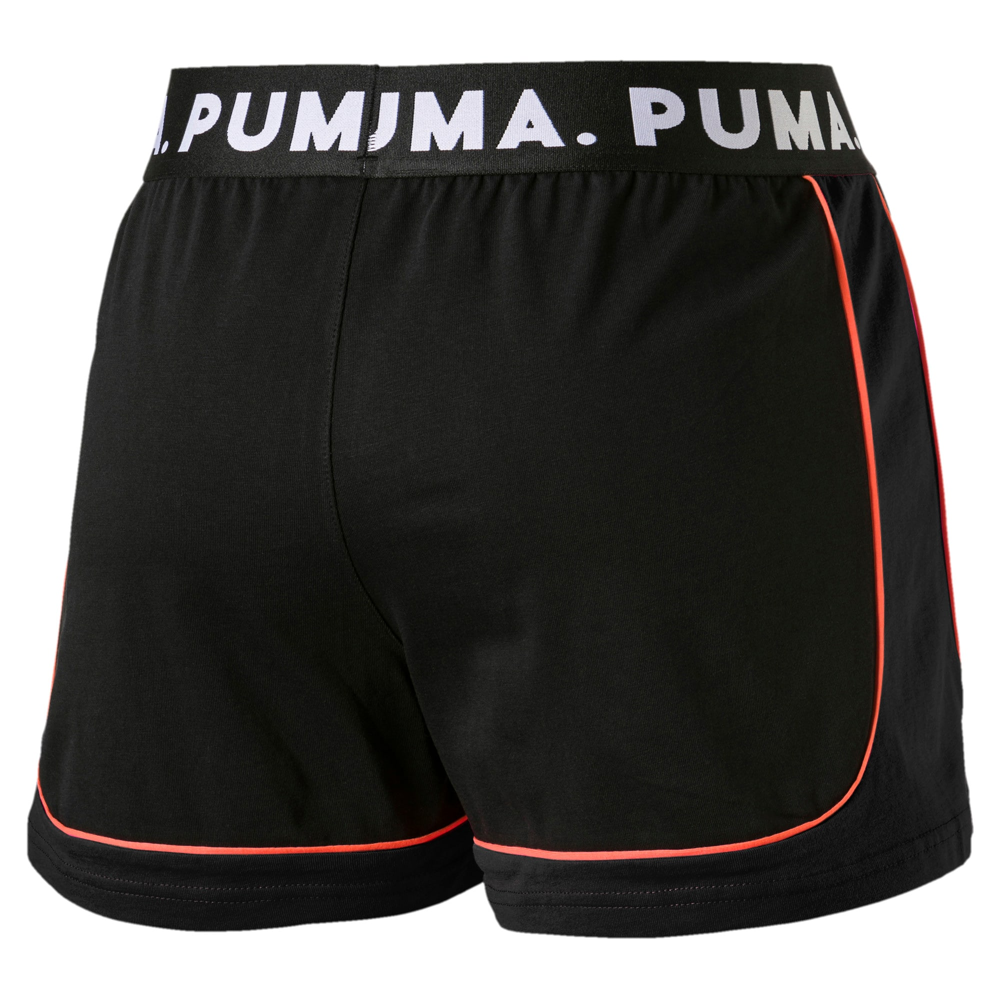 Miniatura 3 de Shorts Chase para mujer, Cotton Black, mediano