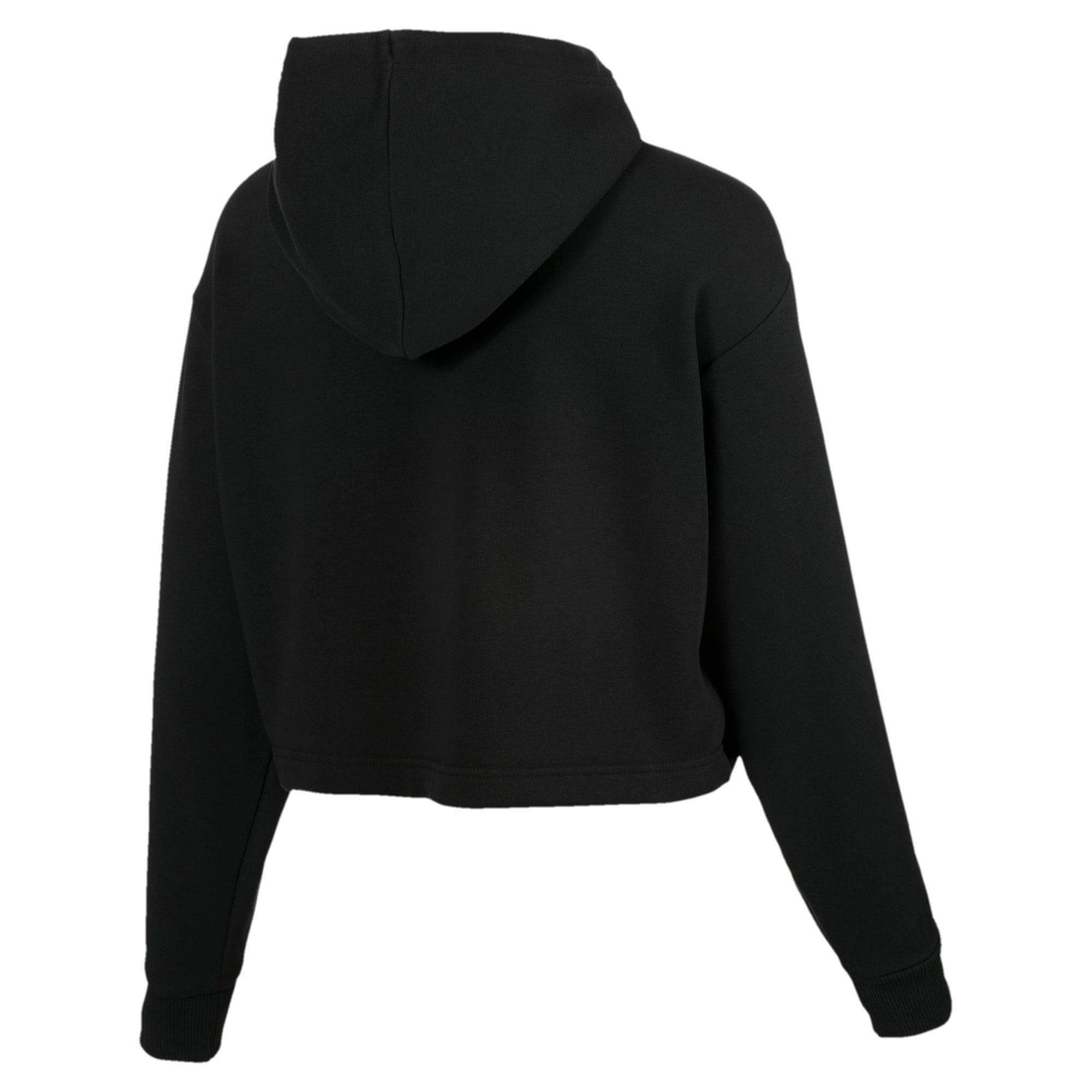 Thumbnail 5 of Trailblazer Women's Hoodie, Cotton Black, medium