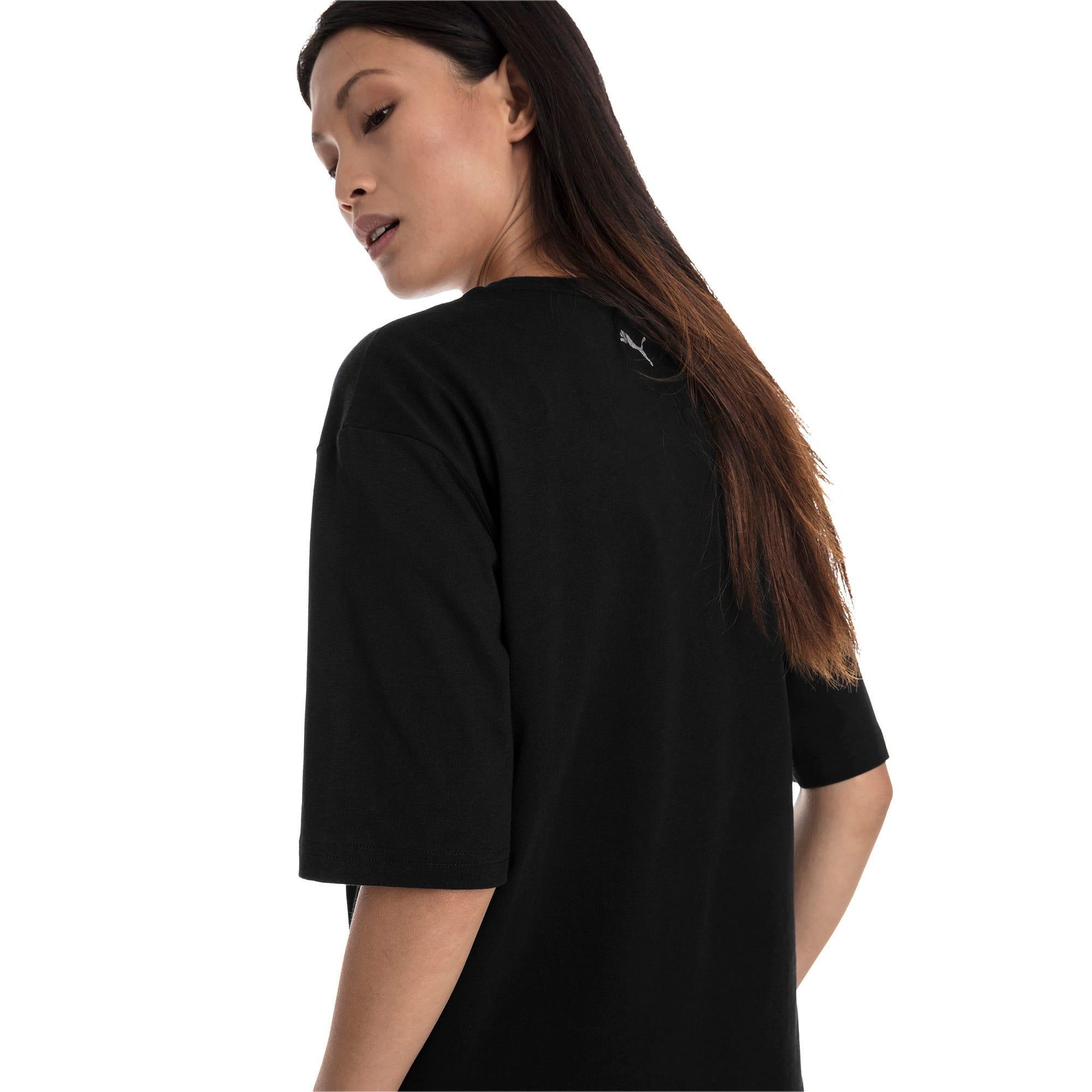 Miniatura 3 de Camiseta Trailblazer para mujer, Cotton Black, mediano