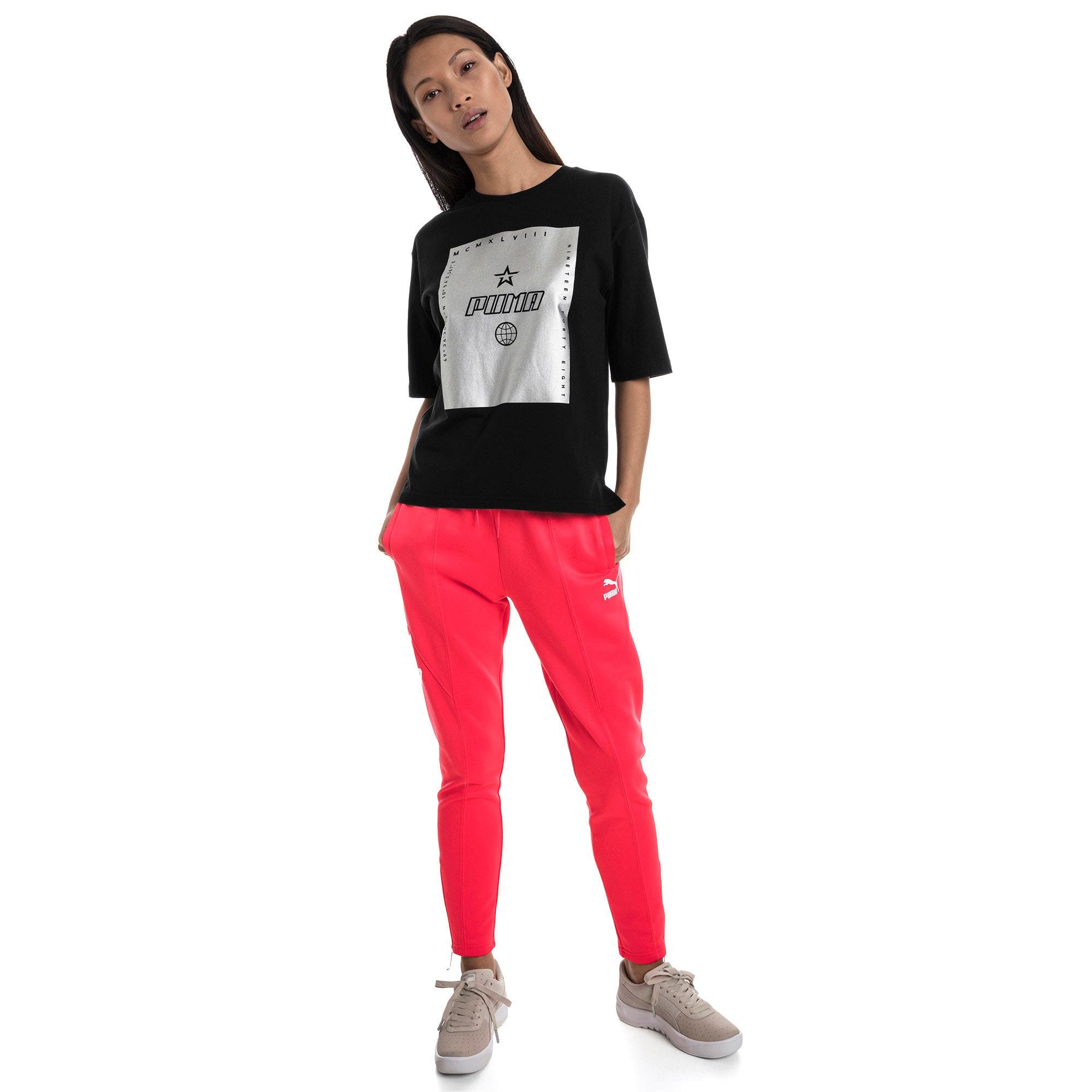 Miniatura 5 de Camiseta Trailblazer para mujer, Cotton Black, mediano