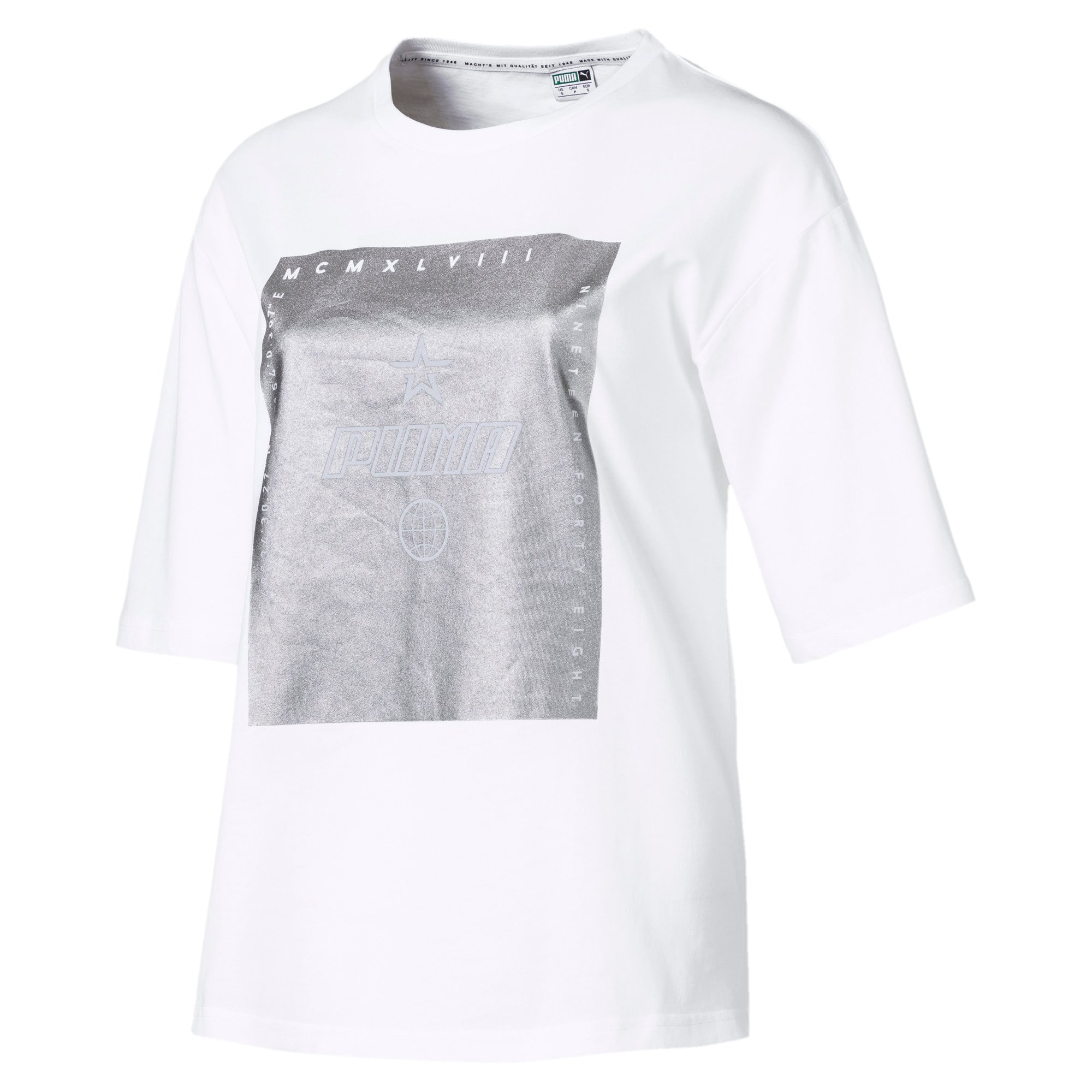 Thumbnail 1 of Trailblazer Women's Tee, Puma White, medium