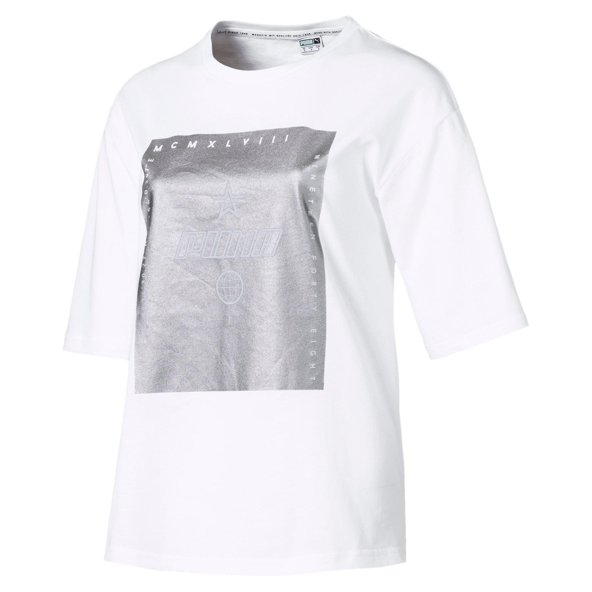 Miniatura 1 de Camiseta Trailblazer para mujer, Puma White, mediano