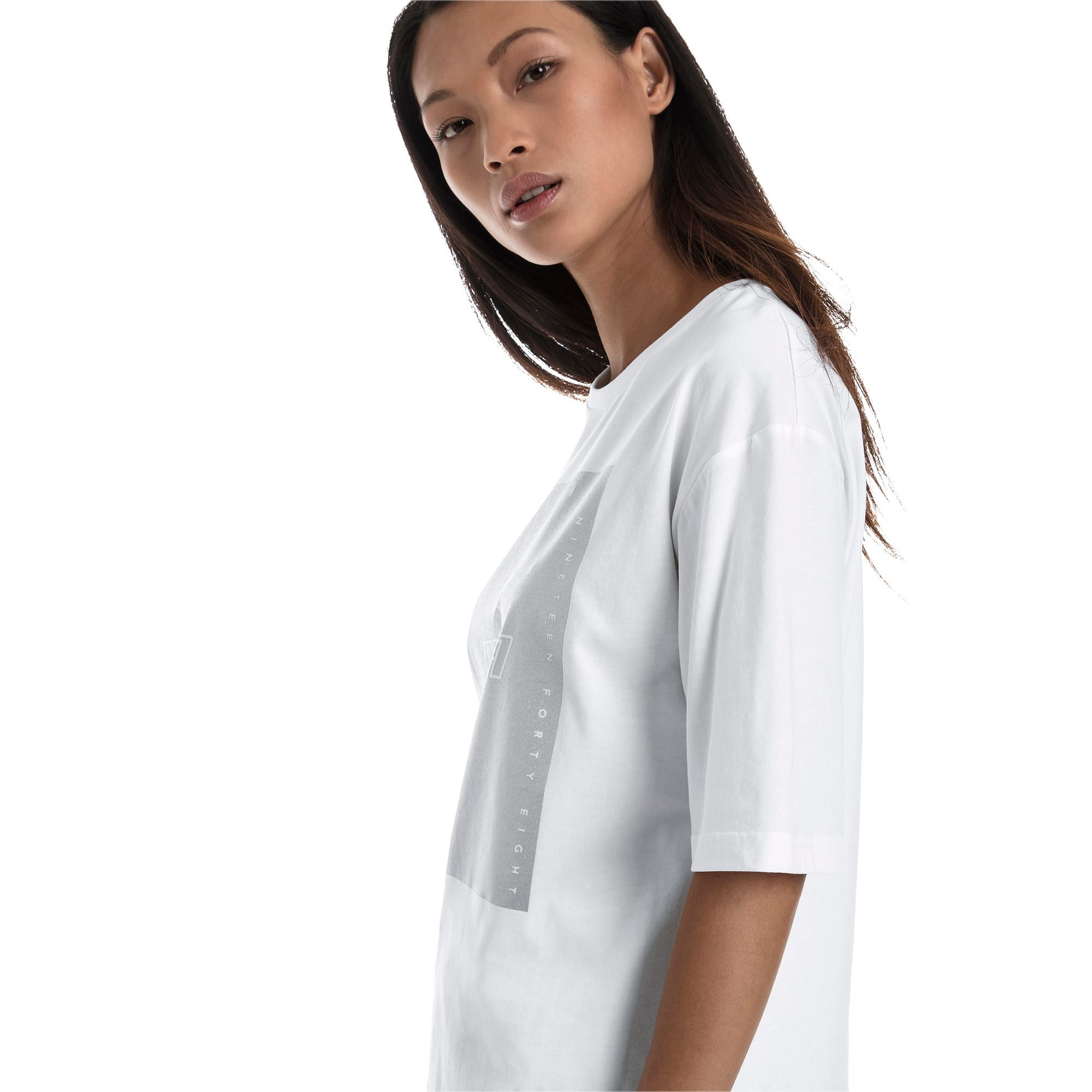 Thumbnail 3 of Trailblazer Women's Tee, Puma White, medium