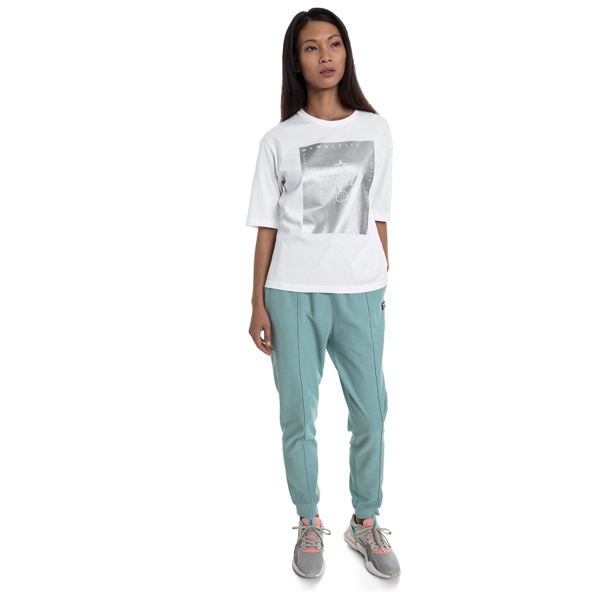 Miniatura 5 de Camiseta Trailblazer para mujer, Puma White, mediano