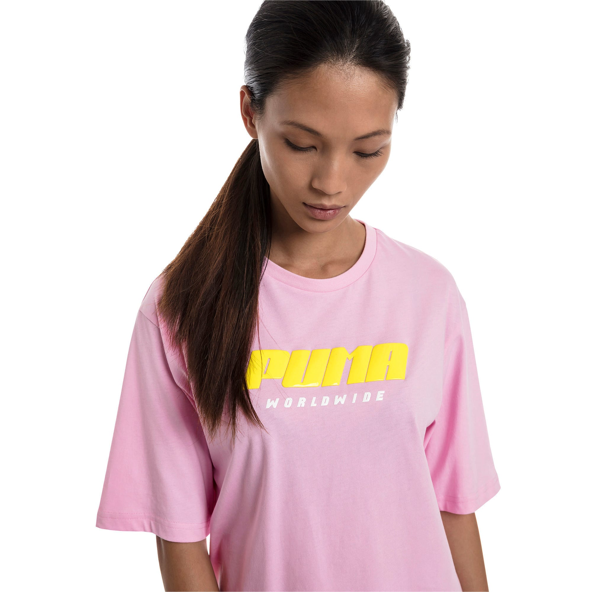 Thumbnail 1 of Trailblazer Women's Tee, Pale Pink, medium