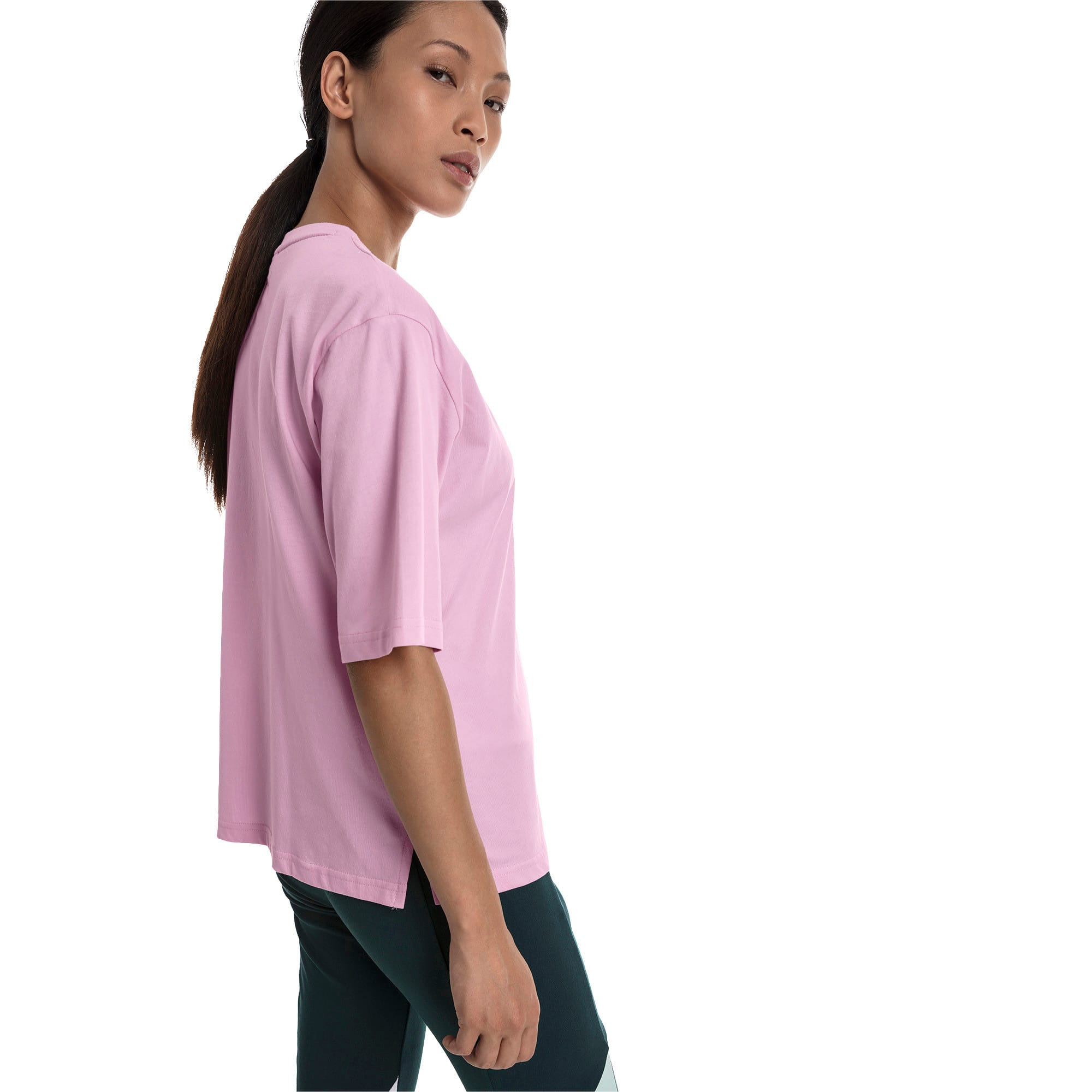 Thumbnail 2 of Trailblazer Women's Tee, Pale Pink, medium