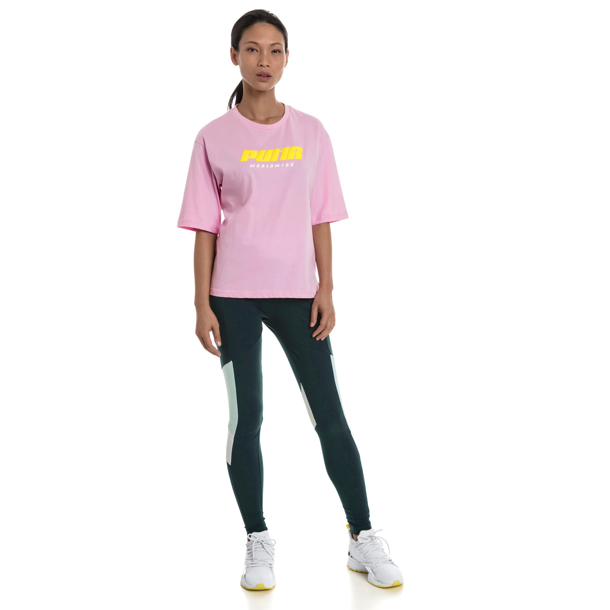 Thumbnail 3 of Trailblazer Women's Tee, Pale Pink, medium