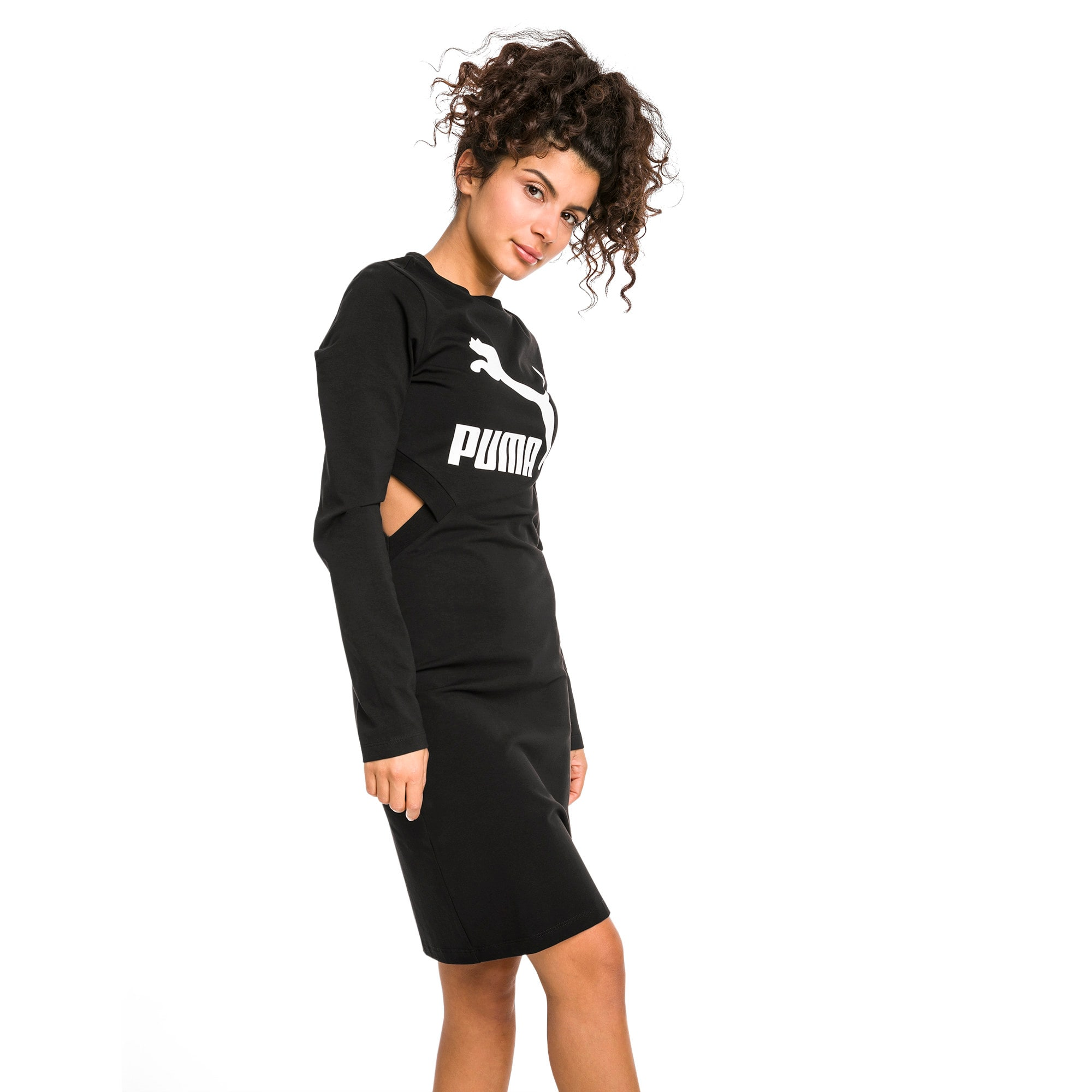 Thumbnail 2 of Classics Tight Women's Dress, Cotton Black, medium