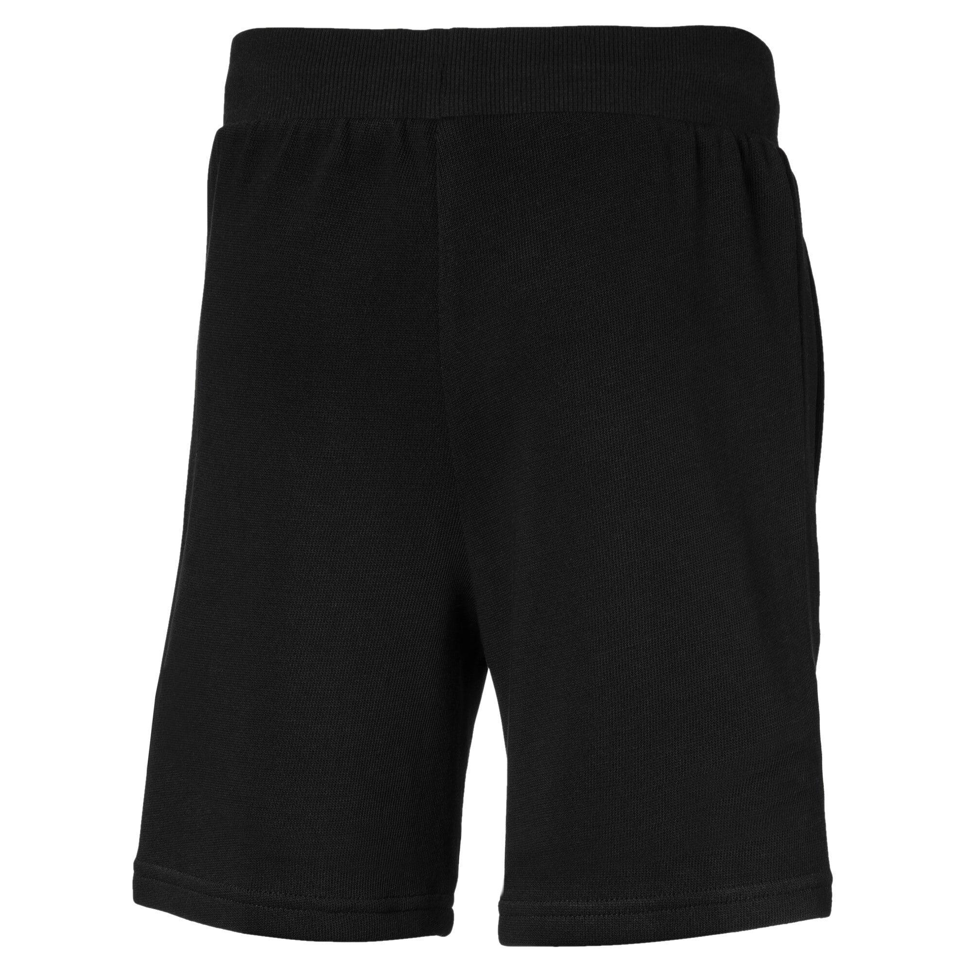 Thumbnail 2 of Scuderia Ferrari Boys' Sweat Shorts JR, Puma Black, medium