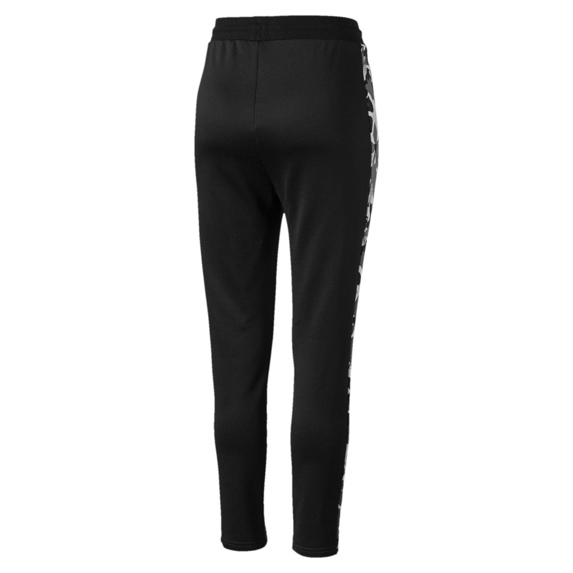 Miniatura 3 de Pantalones deportivos ClassicsAOP T7 para mujer, Puma Black, mediano