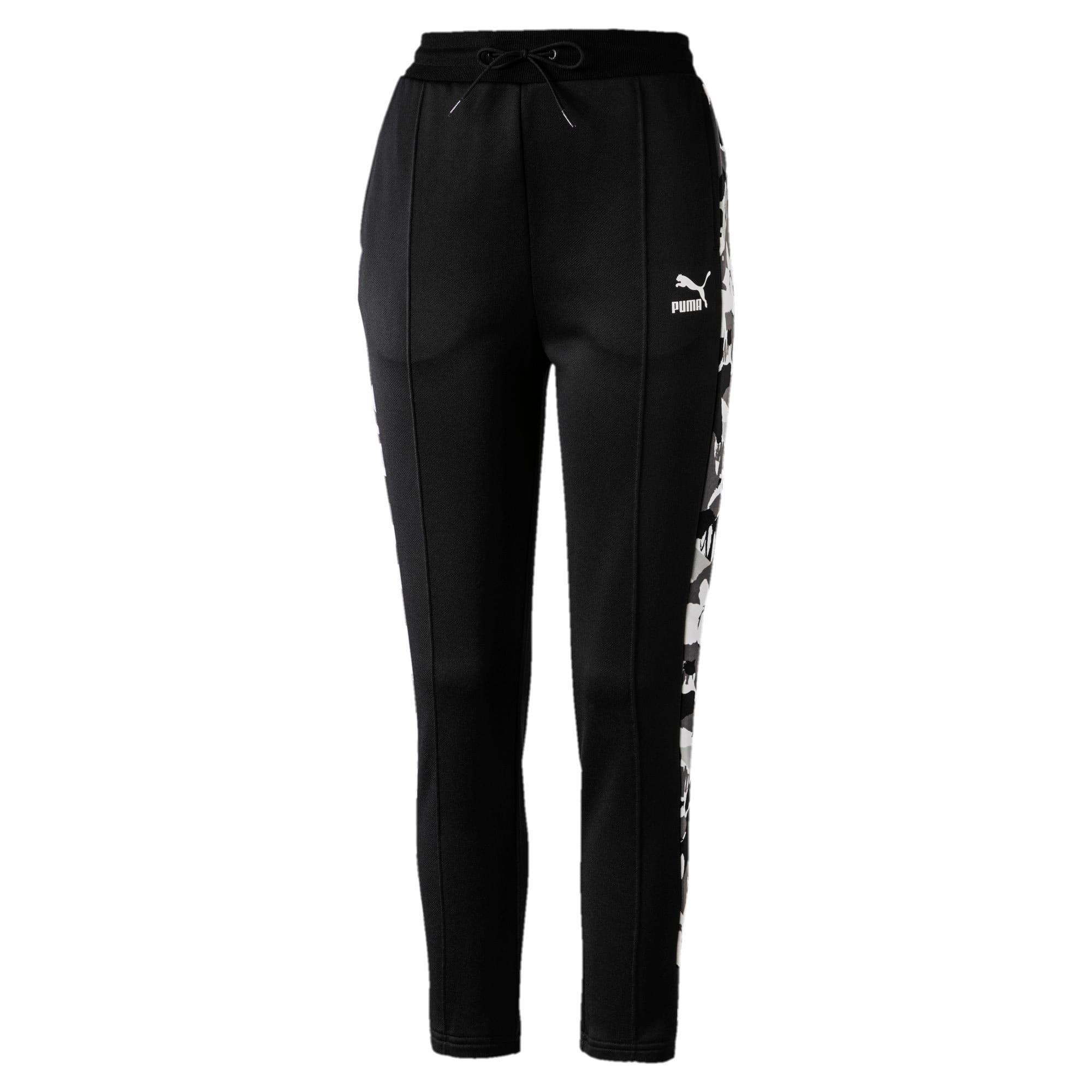Miniatura 1 de Pantalones deportivos ClassicsAOP T7 para mujer, Puma Black, mediano
