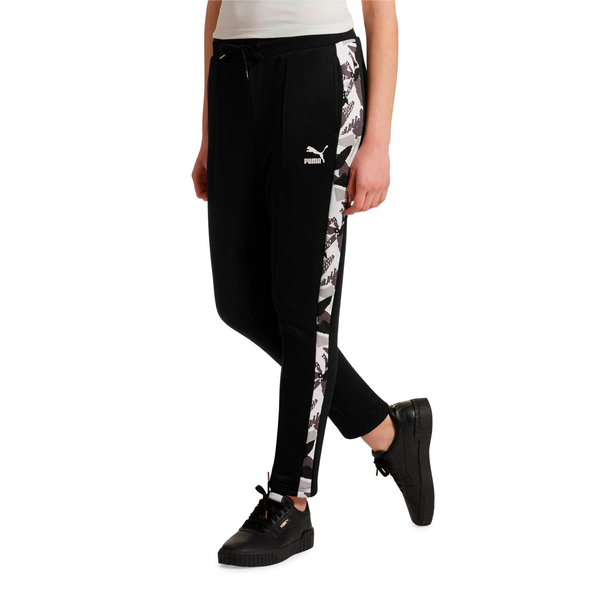 Miniatura 2 de Pantalones deportivos ClassicsAOP T7 para mujer, Puma Black, mediano