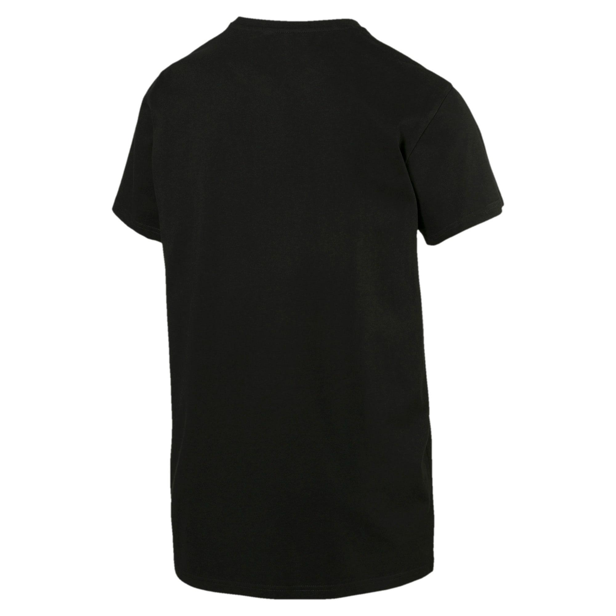 Miniatura 5 de Camiseta Classics con logo para hombre, Cotton Black, mediano