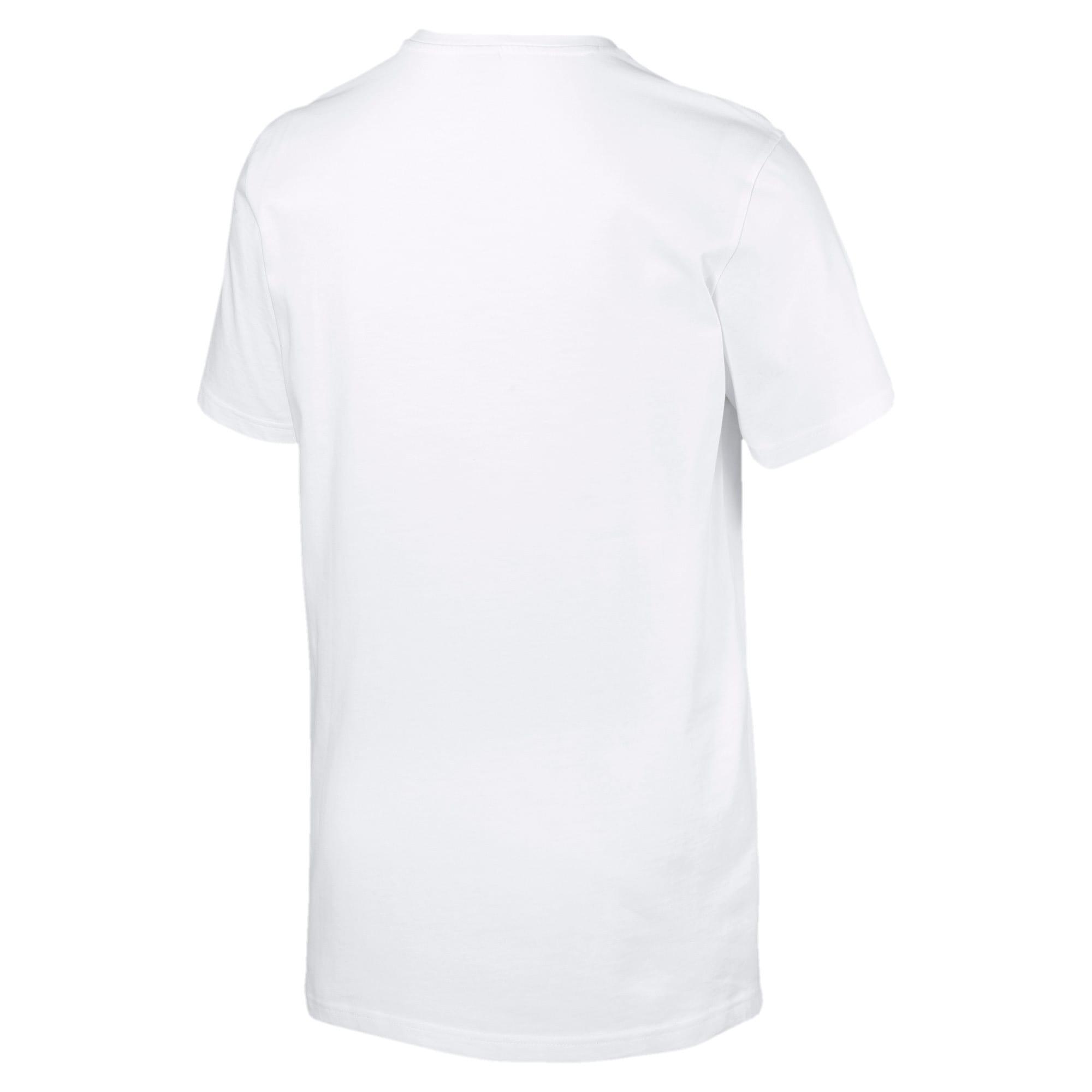 Miniatura 5 de Camiseta Classics con logo para hombre, Puma White, mediano