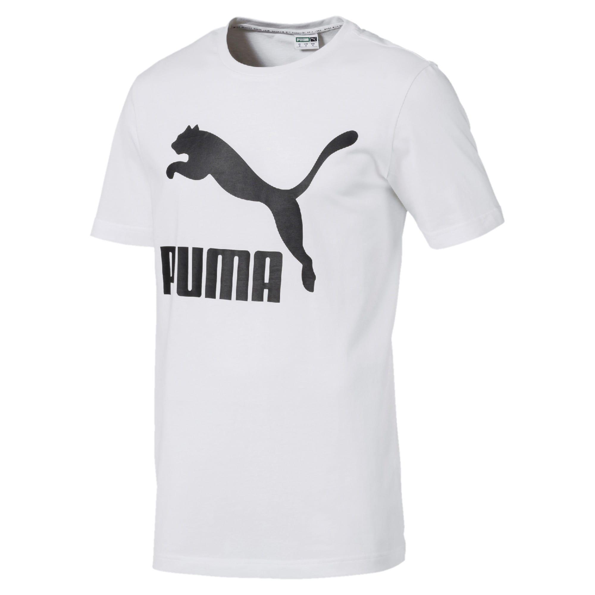 Miniatura 4 de Camiseta Classics con logo para hombre, Puma White, mediano